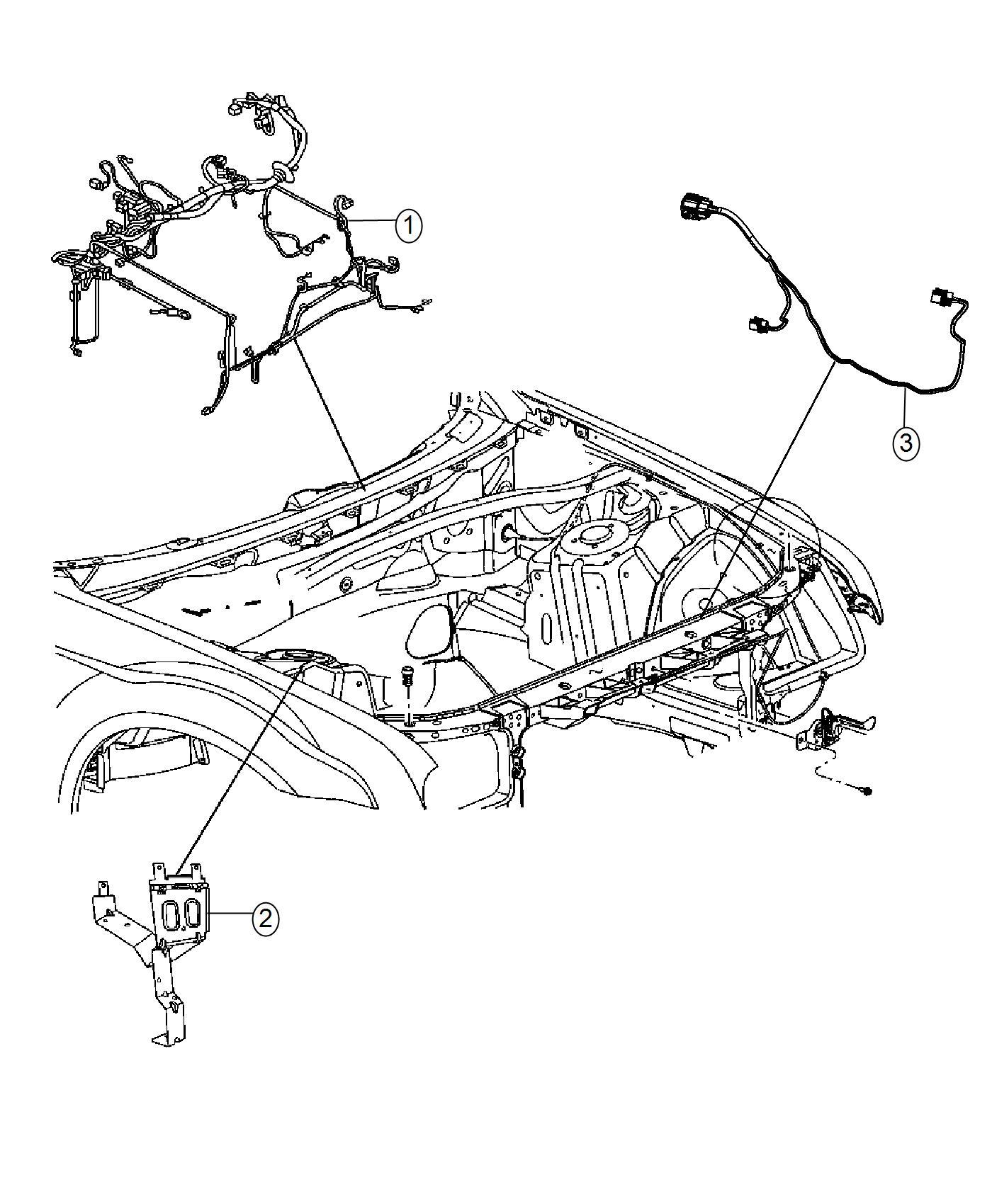 Dodge Charger Wiring Headlamp To Dash Stop Optics