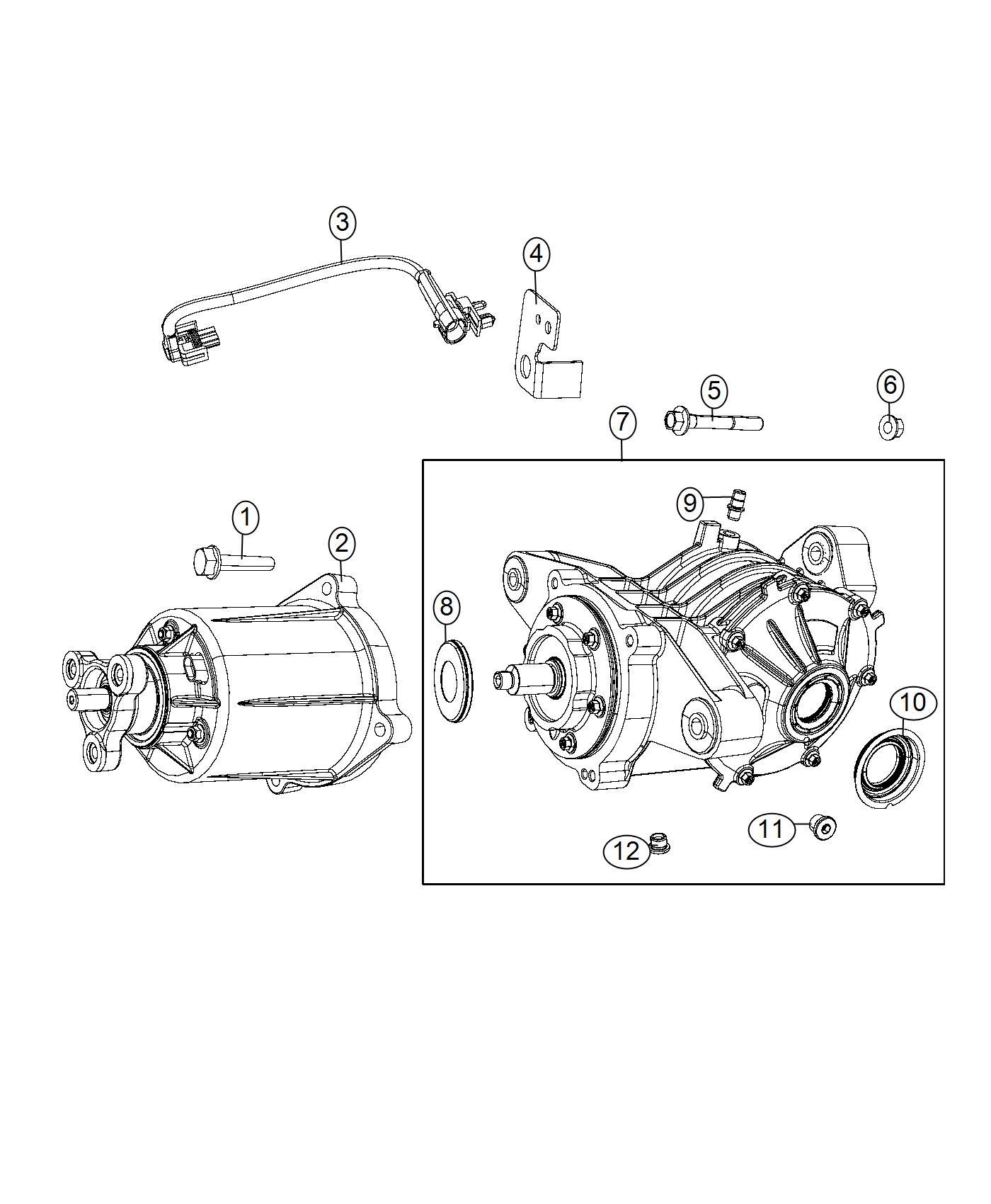 Dodge Journey Bracket Wiring Ecc Jumper To Rdm Module Suspension Rear