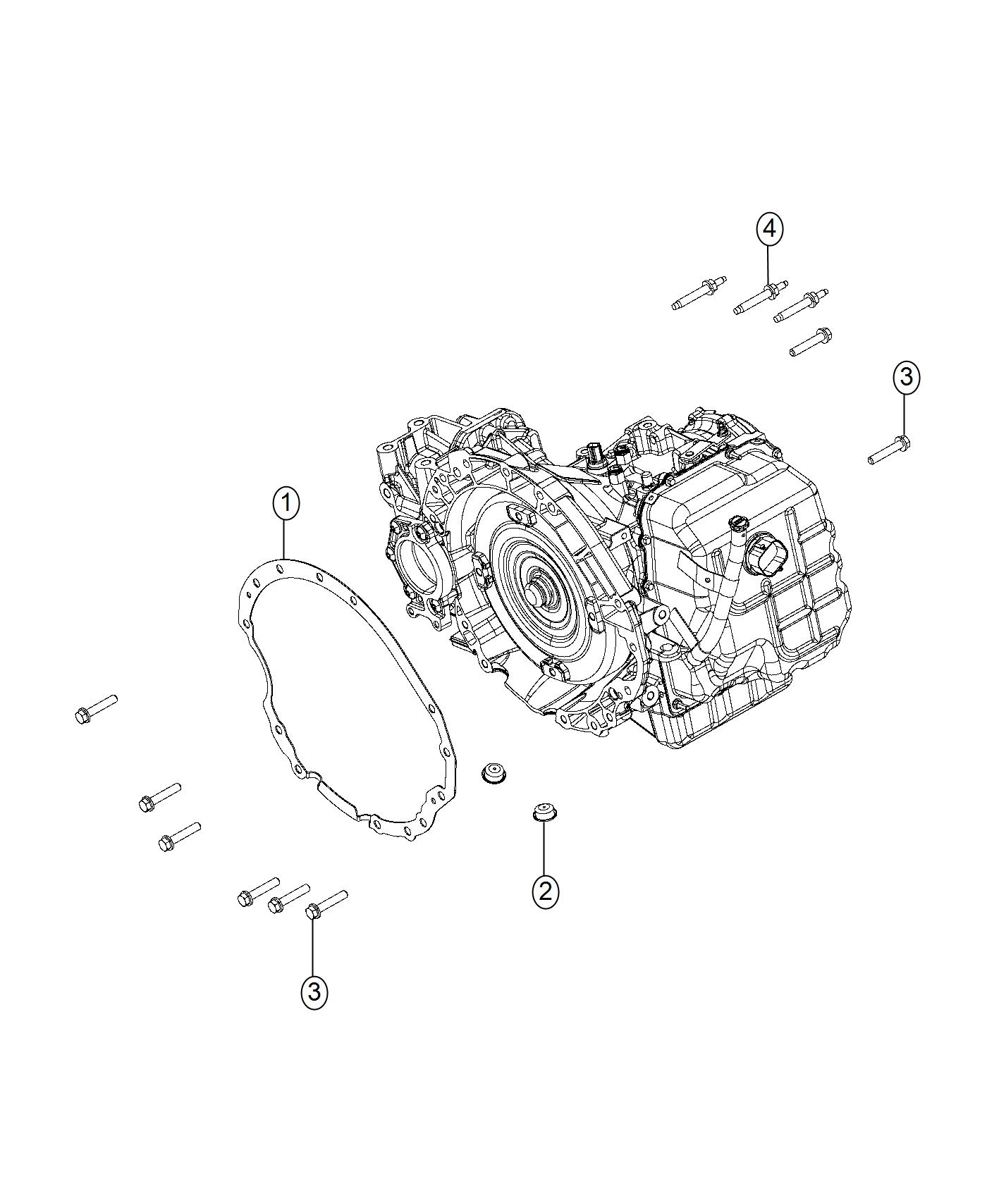 Dodge Journey Cover Transmission Dust Mounting