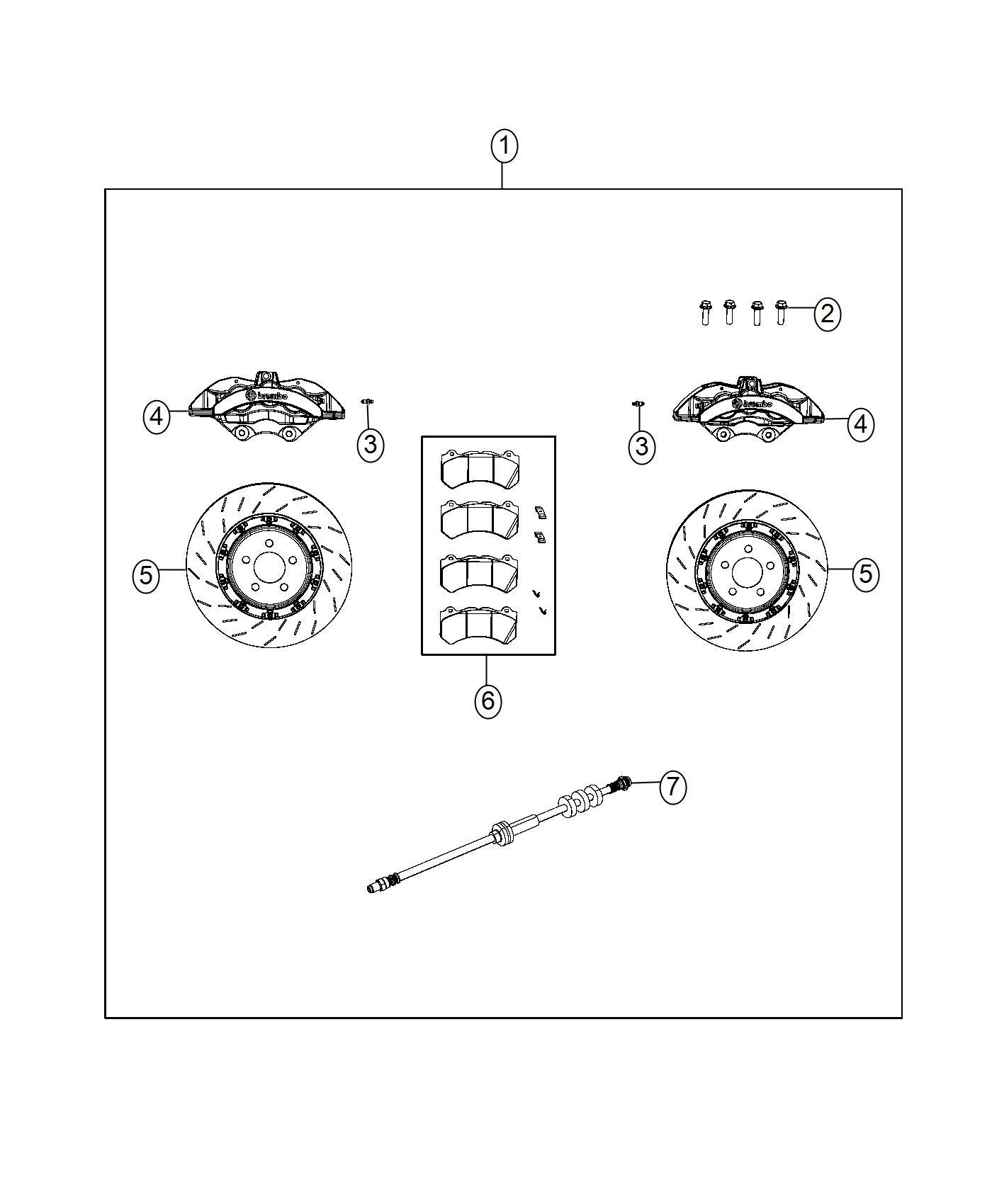 Dodge Dart Caliper Assembly Disc Brake Front Left