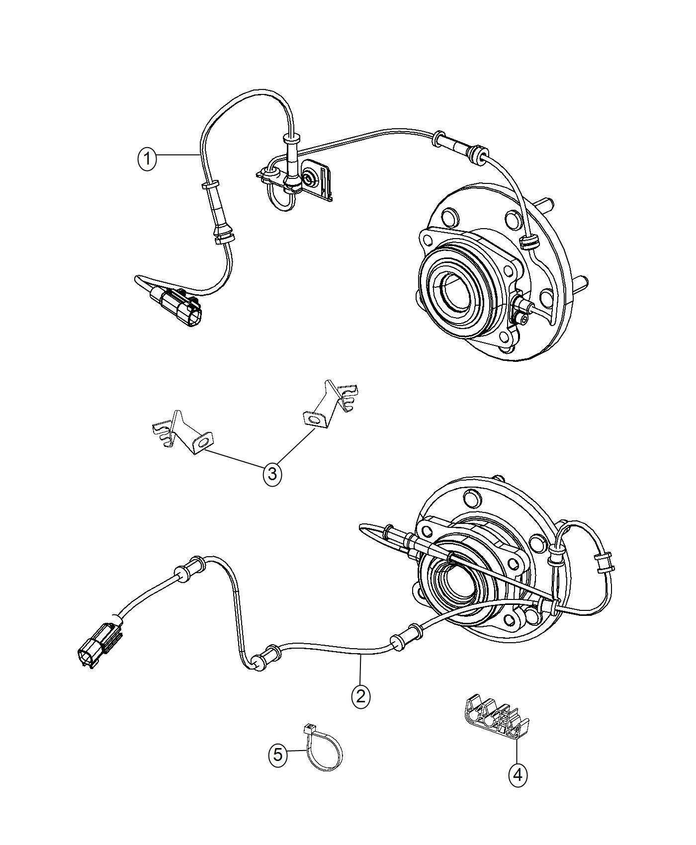 Jeep Cherokee Clip Wiring Used For Right And Left