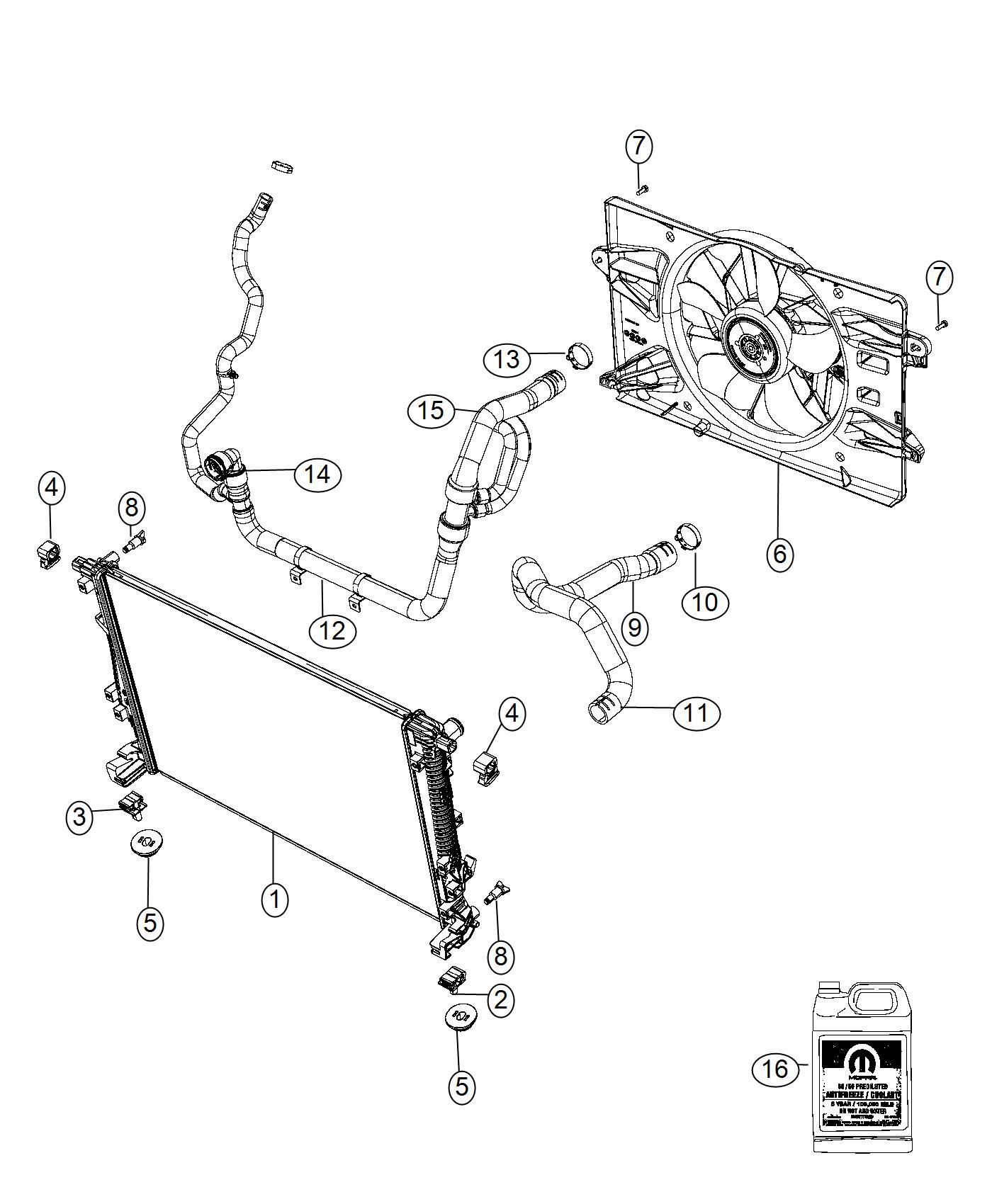 Dodge Dart Clamp Hose Radiator Hose Inlet To Radiator