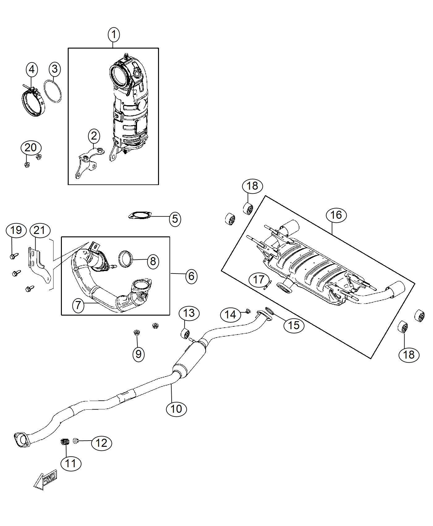 Fiat Spider Pipe Exhaust