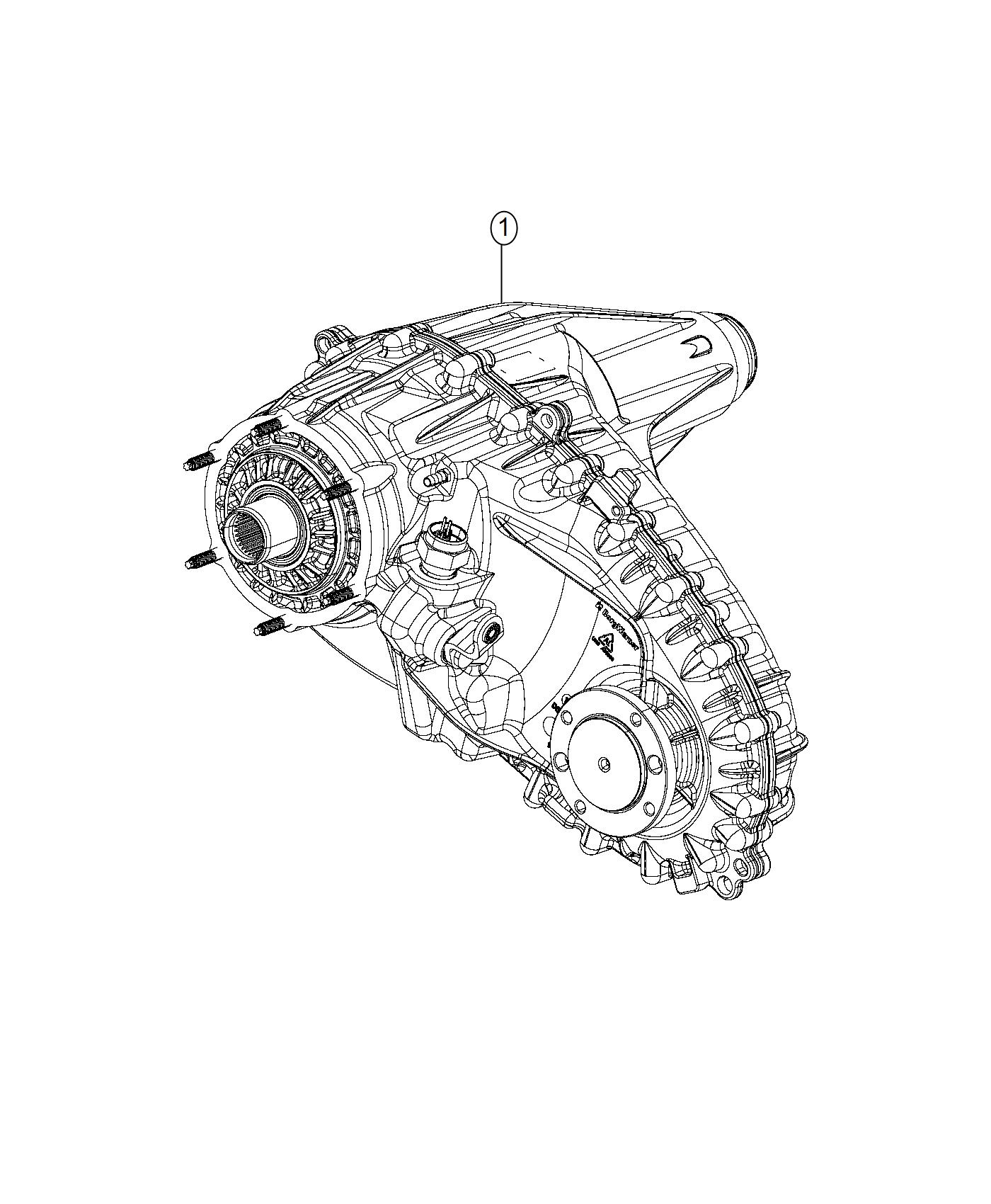 Ram Transfer Case Bw 44 47 Remanufactured