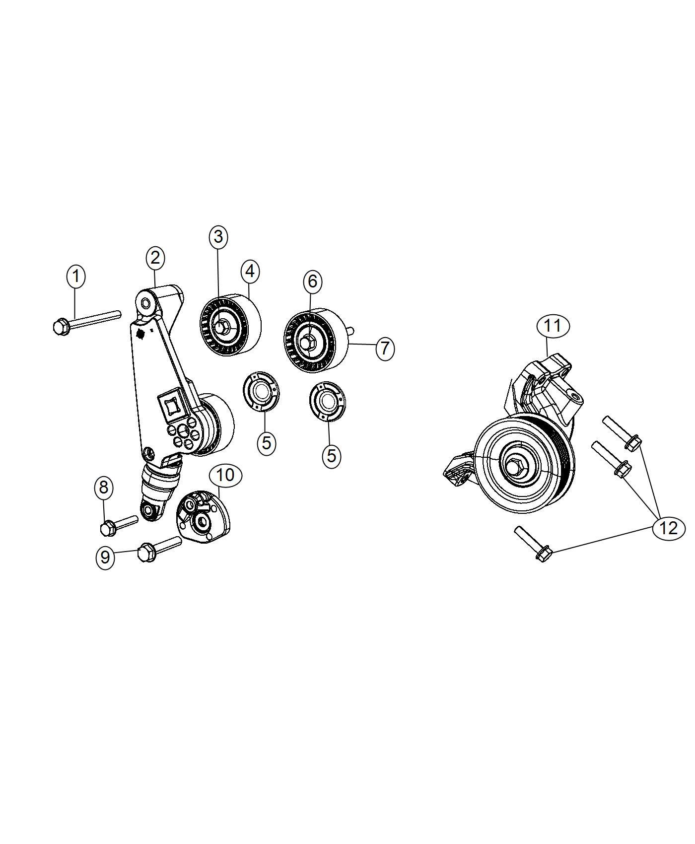 Jeep Wrangler Tensioner Belt Maintenance