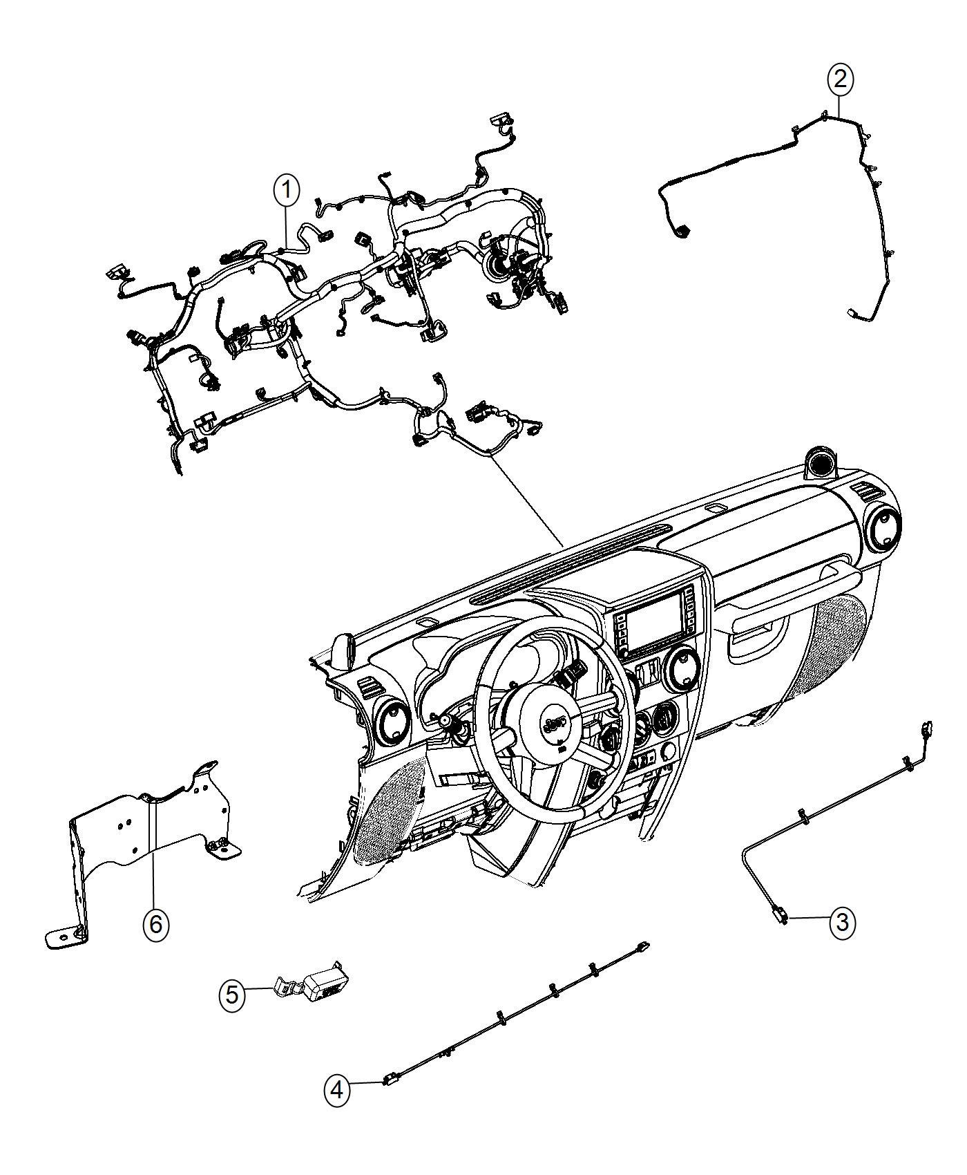 Wiring Diagram For Jeep Wrangler Radio
