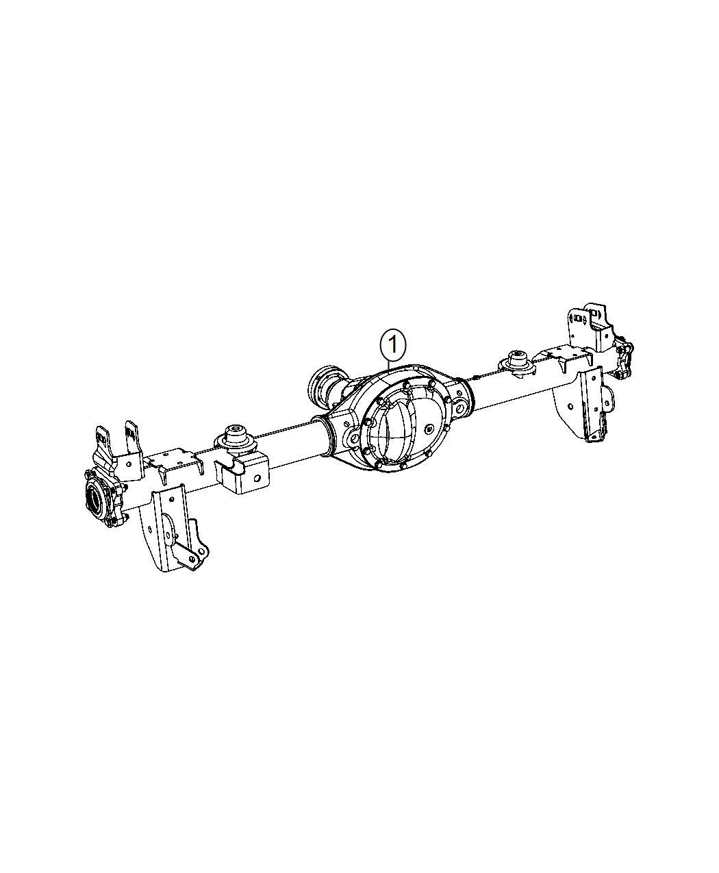 Jeep Wrangler Axle Service Rear 4 10 Rear Axle