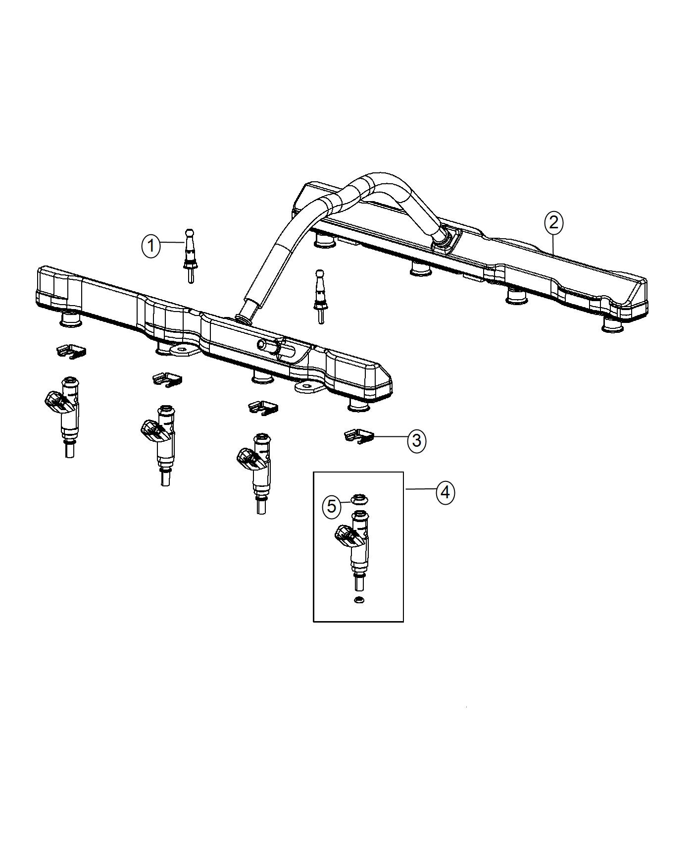 Dodge Charger Rail Fuel 6 4l Srt Hemi Smpi V8