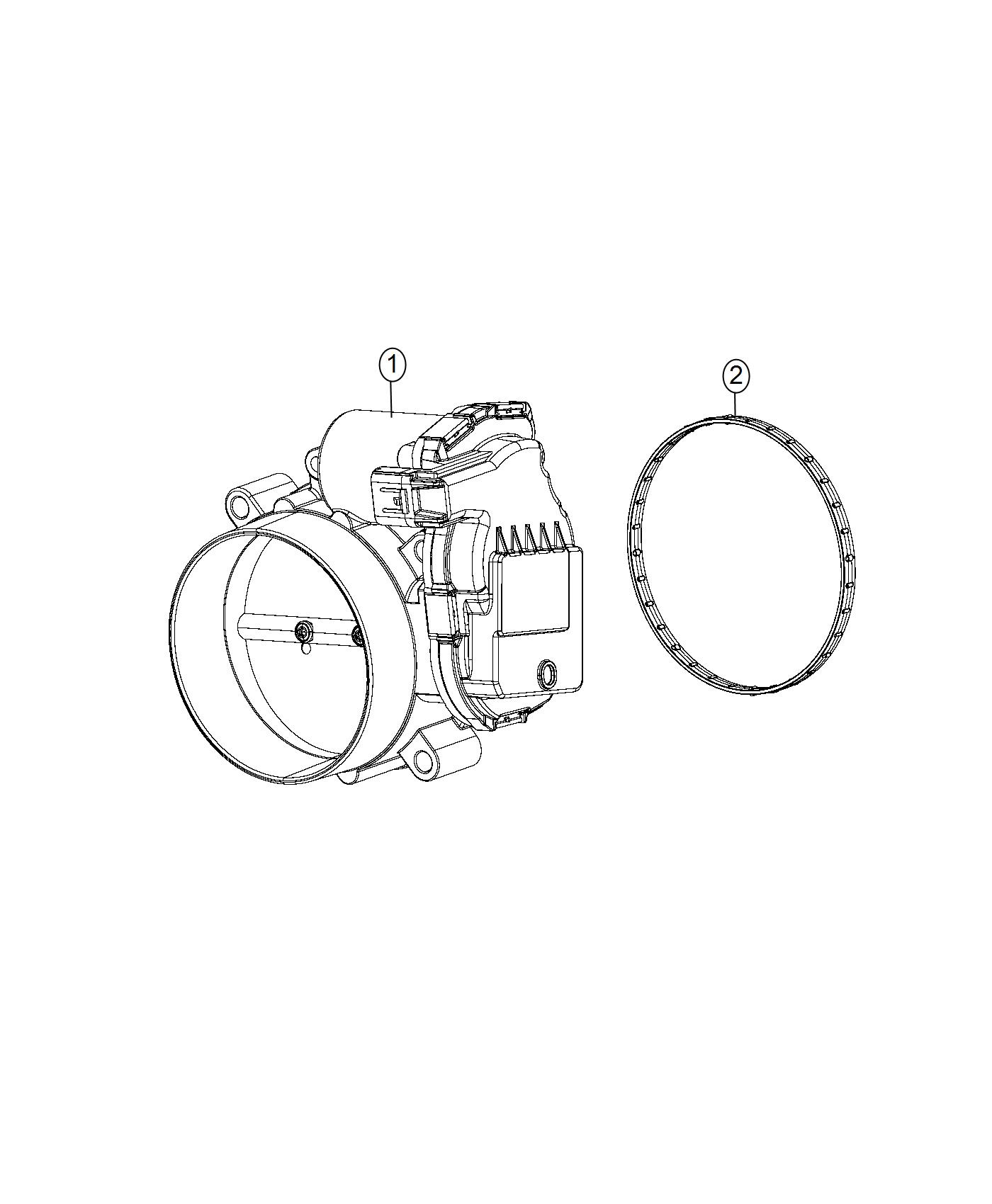 Dodge Charger Throttle Body Do Not Use Use