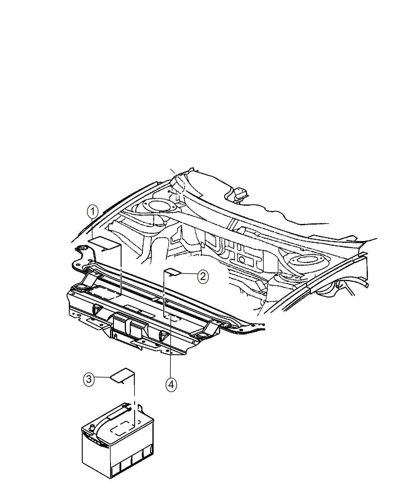 Dodge Charger Label Air Conditioning System