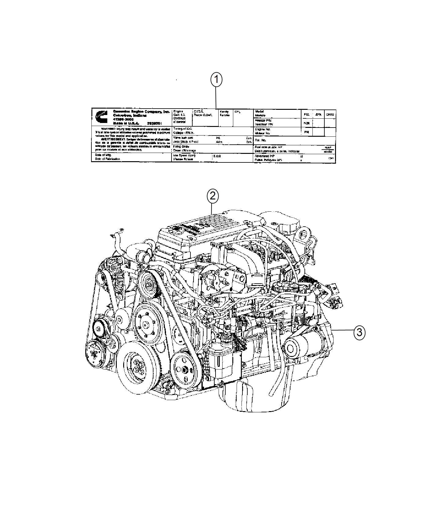 Dodge Ram Engine Complete Remanufactured Cpl