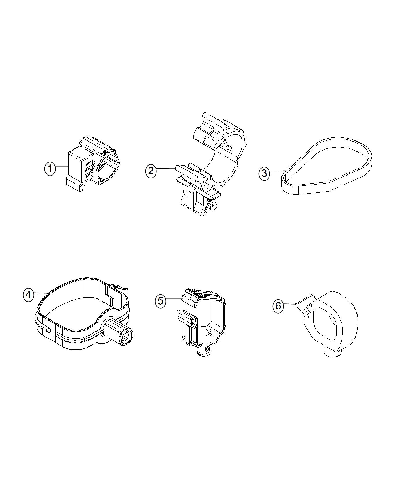 Ram Promaster City Wagon Slt Clip Cable Export