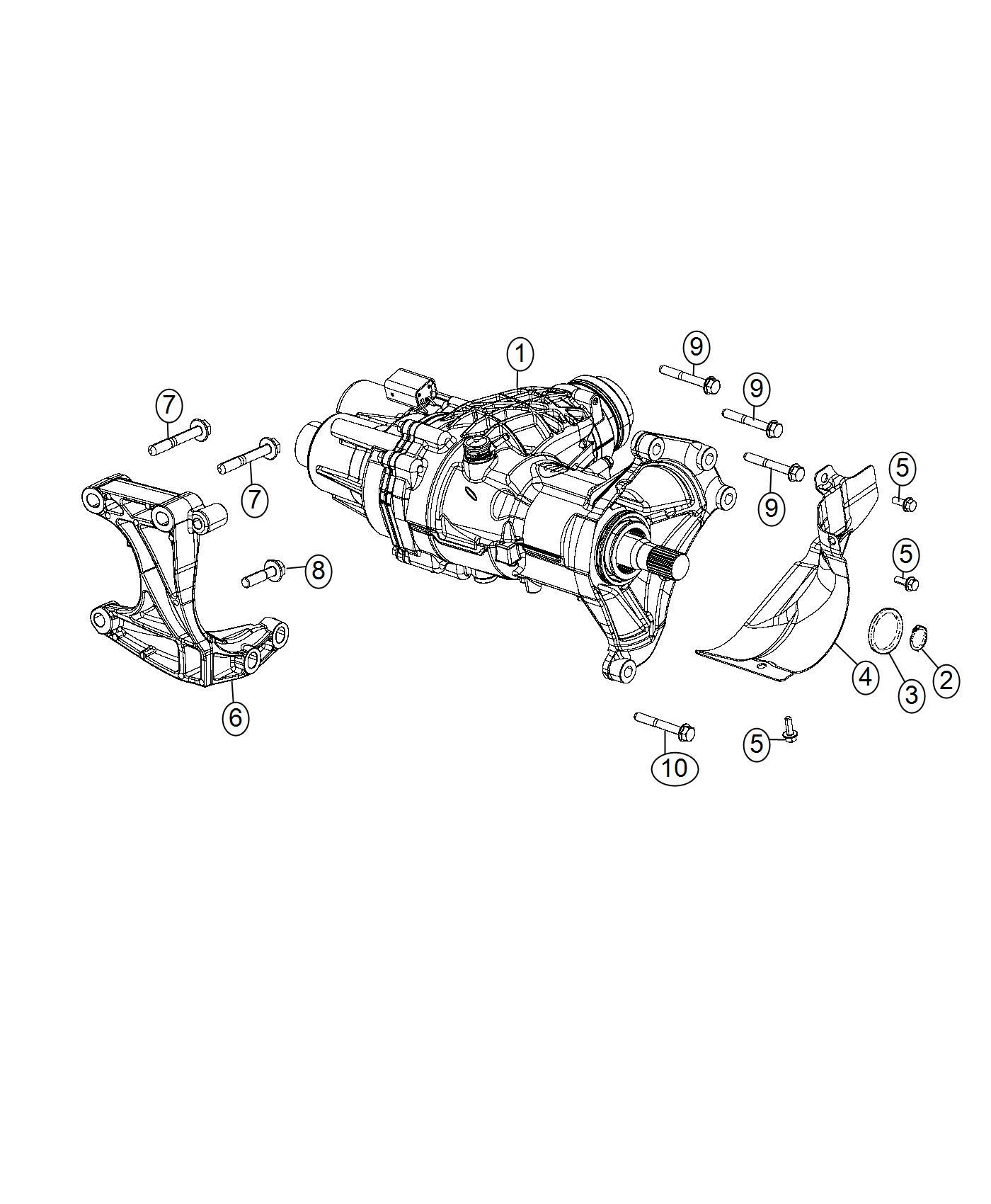 Jeep Renegade Bolt Hex Flange Head M10x1 50x82 00