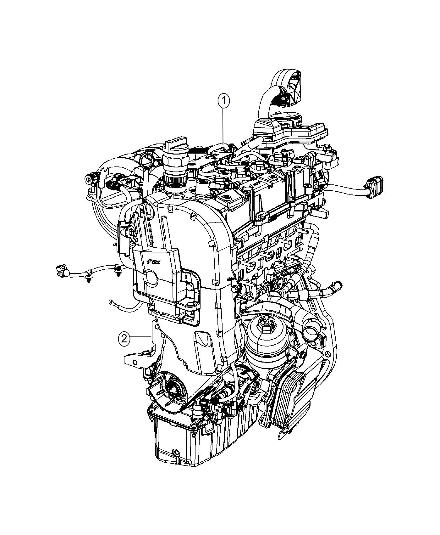 Jeep Renegade Engine Complete Block Long Service