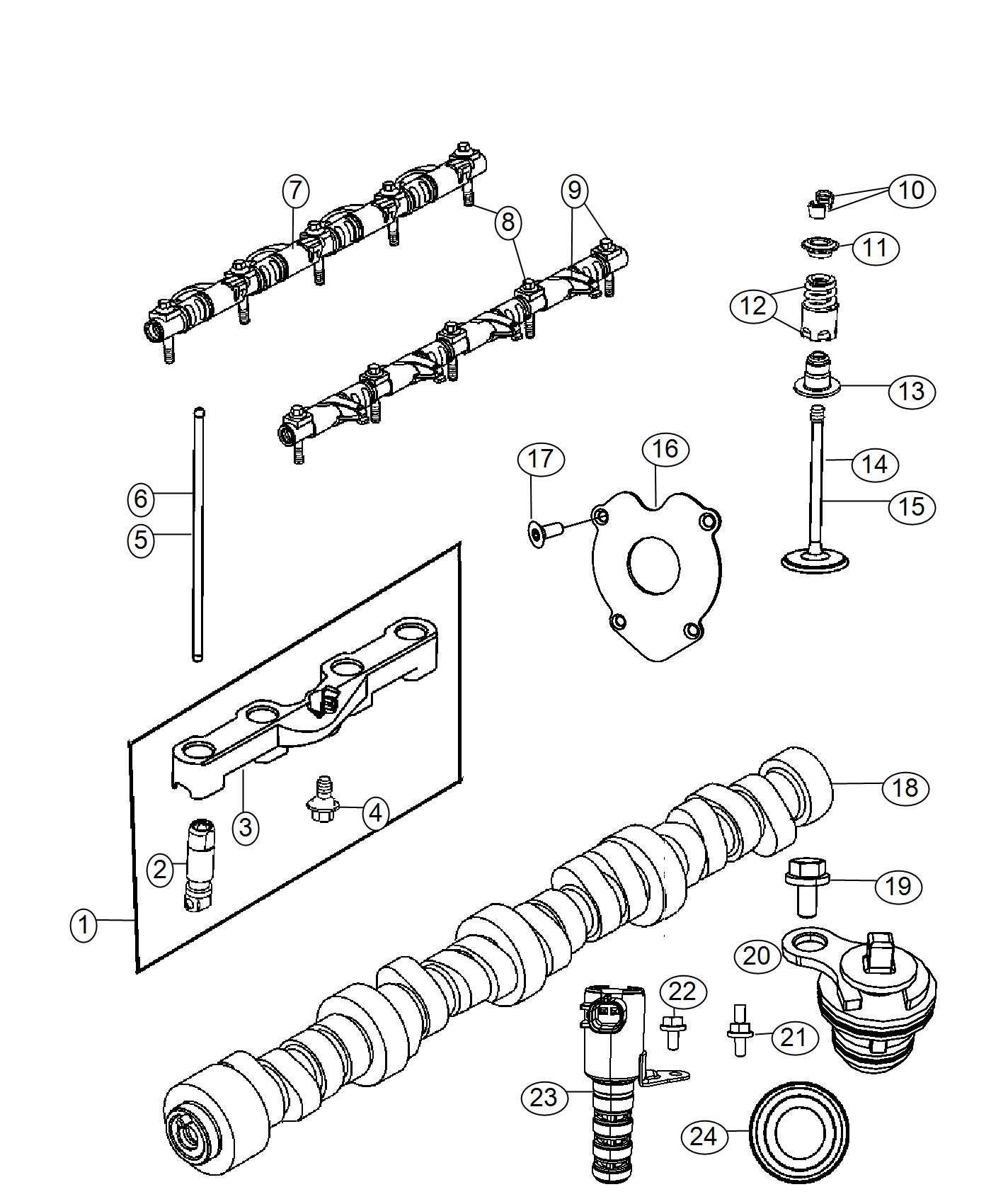 Ram Used For Lifters And Yoke Hydraulic Engine