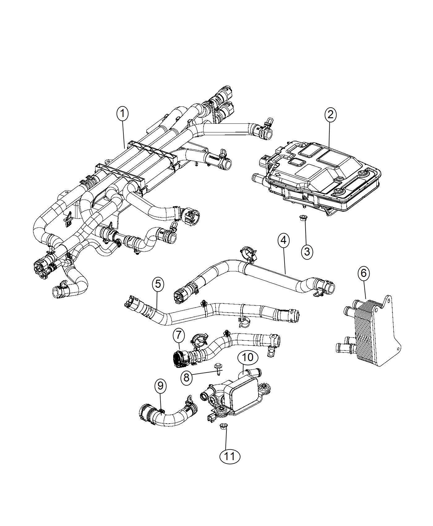 Chrysler Pacifica Heat Exchanger Chiller Battery Cooling
