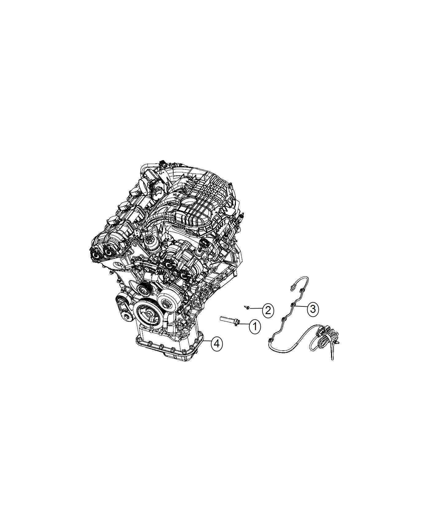 Chrysler 300 Cord Engine Block Heater 3 6l V6 24v