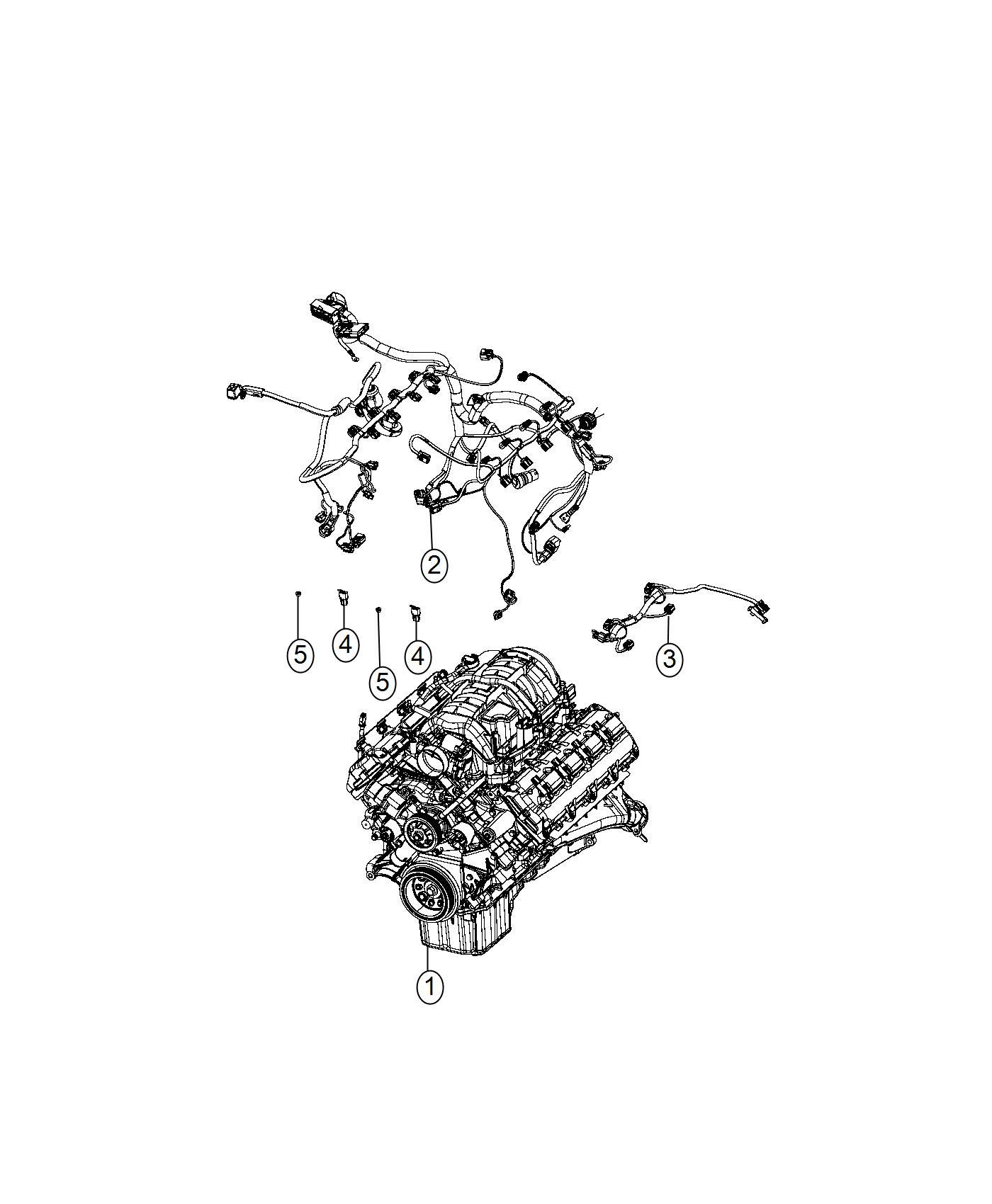Dodge Charger Wiring Engine Powertrain Oil Mopar