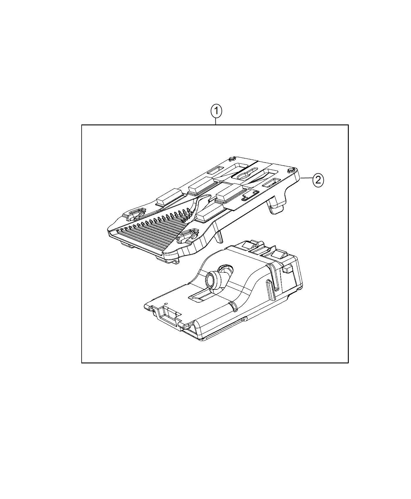 Jeep Renegade Bracket Camera Plus Cruise Control