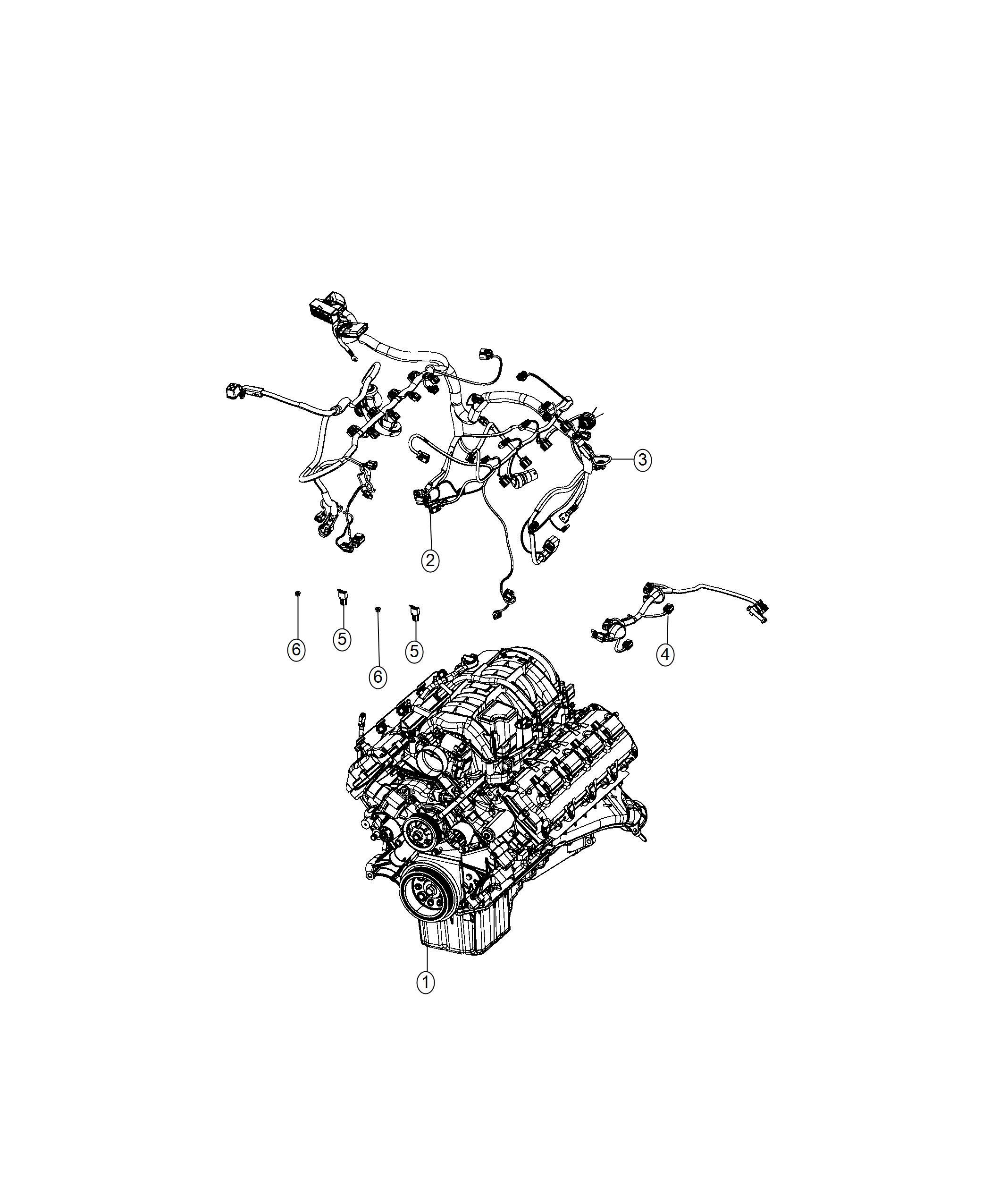 Dodge Challenger Wiring Engine Oil Fca Cooler
