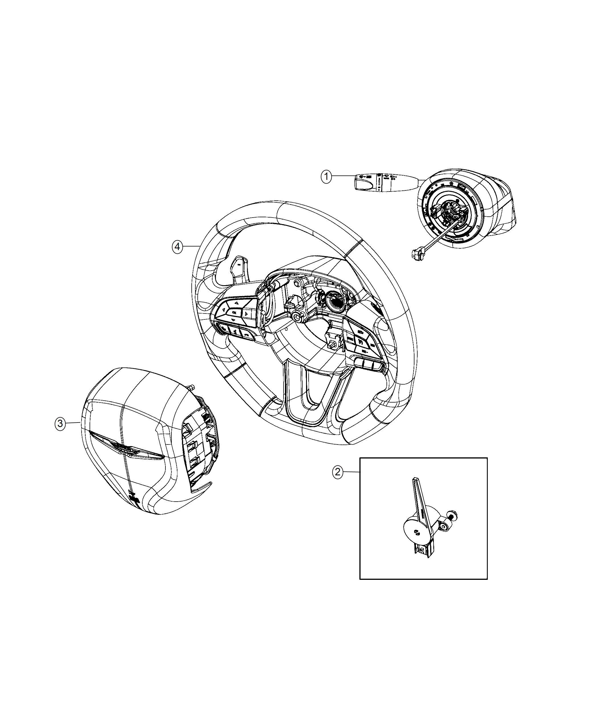 Chrysler 300 Module Steering Column Trim No
