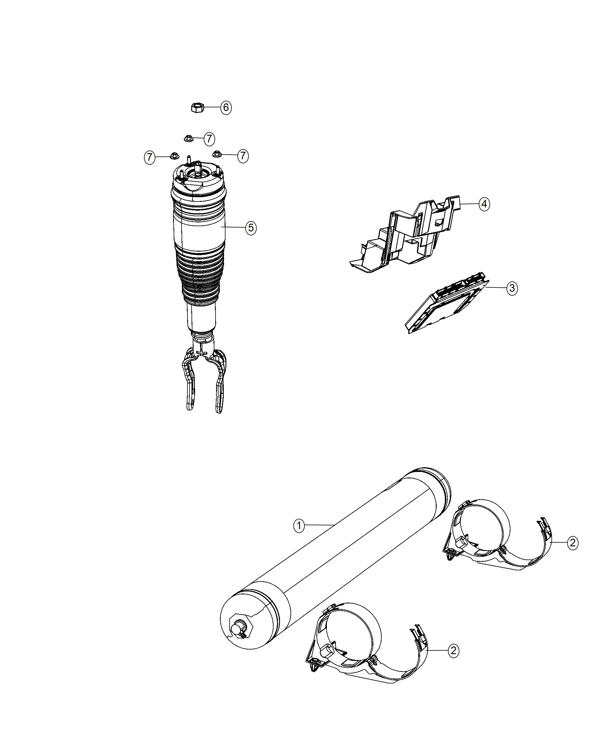 Jeep Grand Cherokee Used For Spring And Shock Assembly