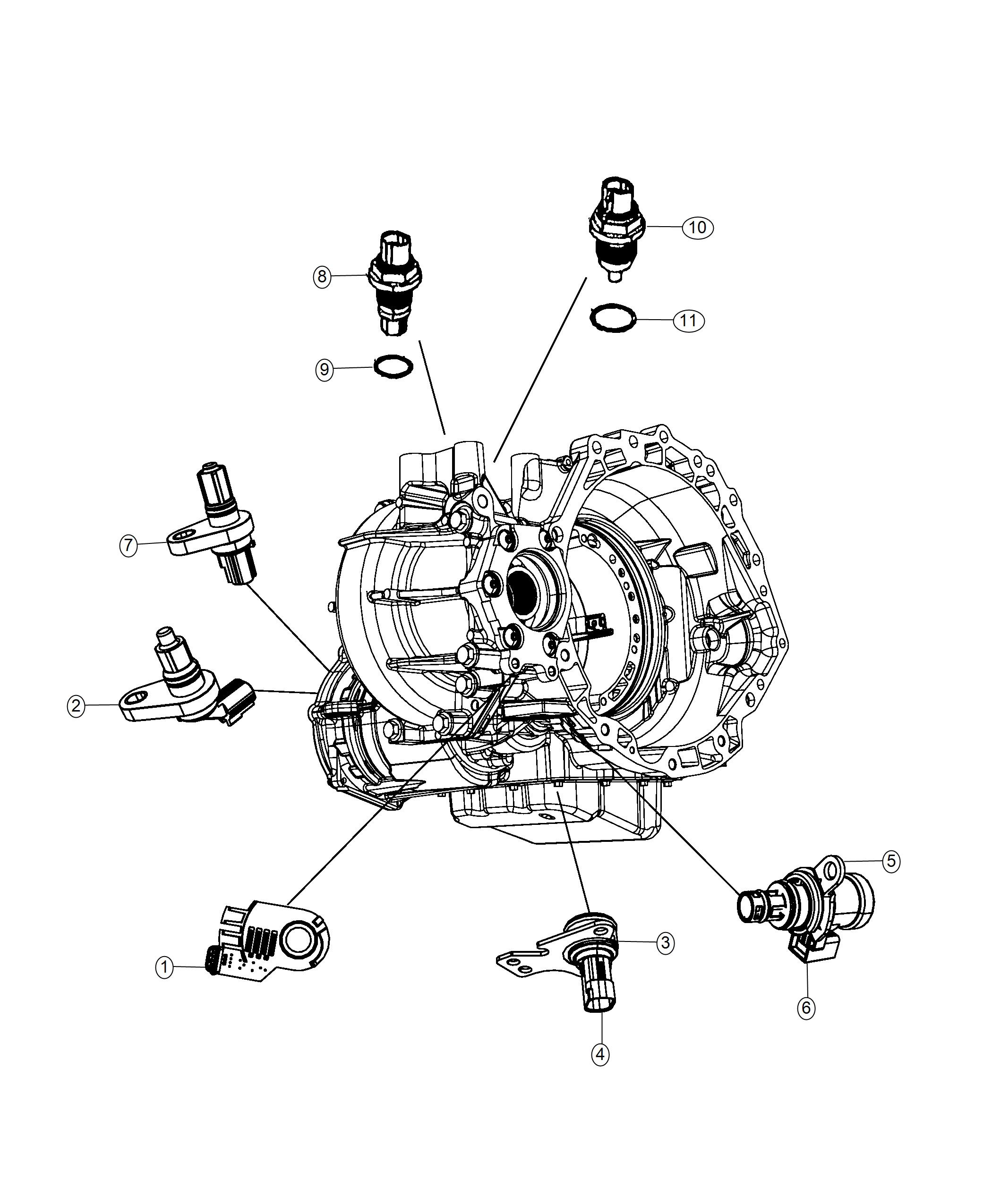 Dodge Journey Sensor Transmission Range 2 37