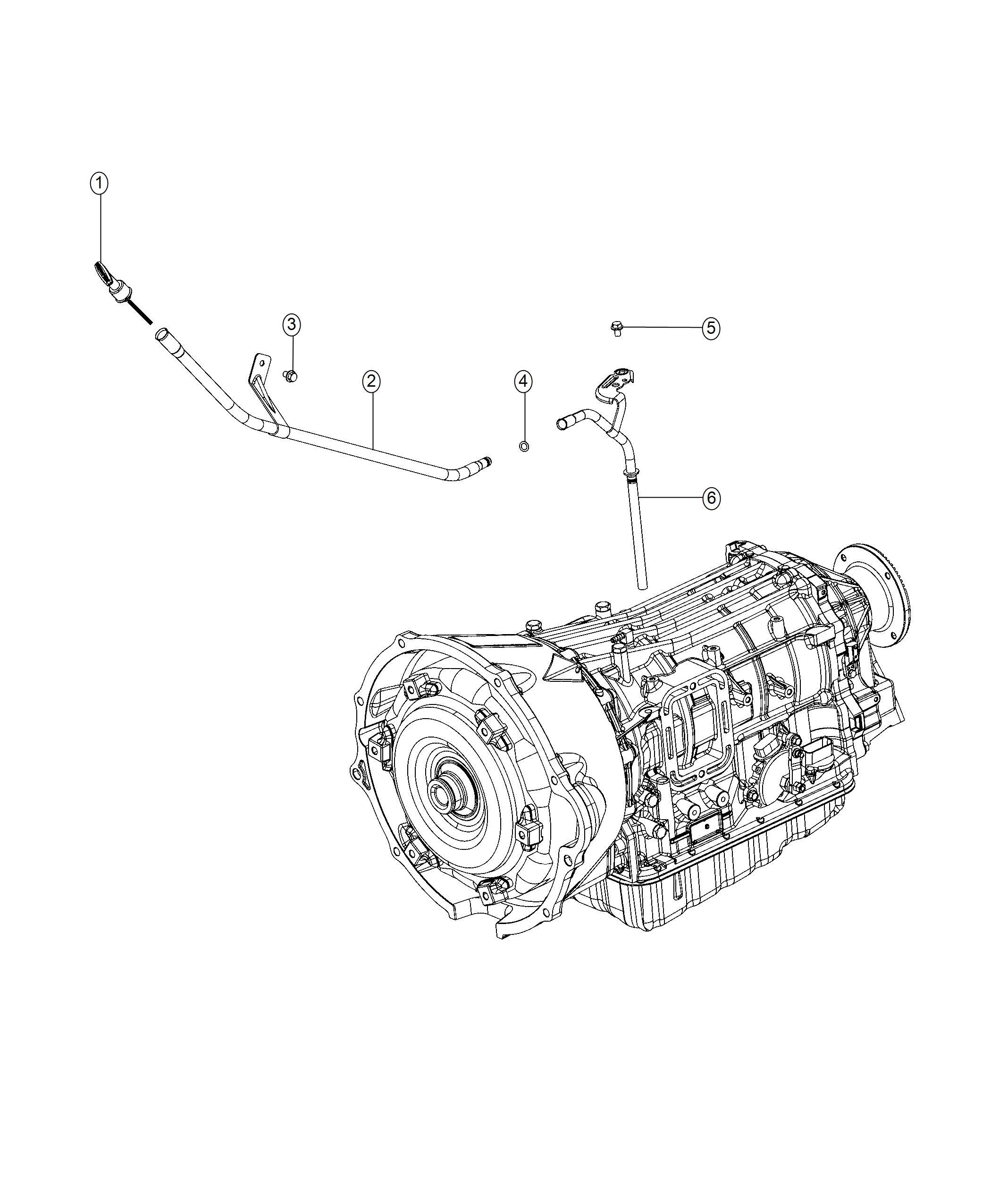 Ram Indicator Transmission Fluid Level Body 94