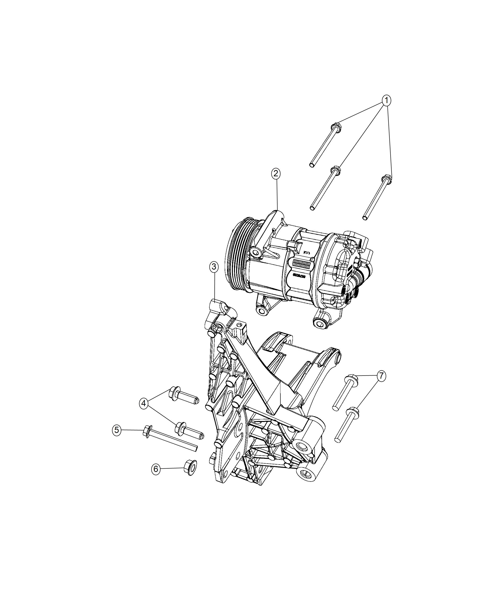 Jeep Renegade Bracket Used For Alternator And