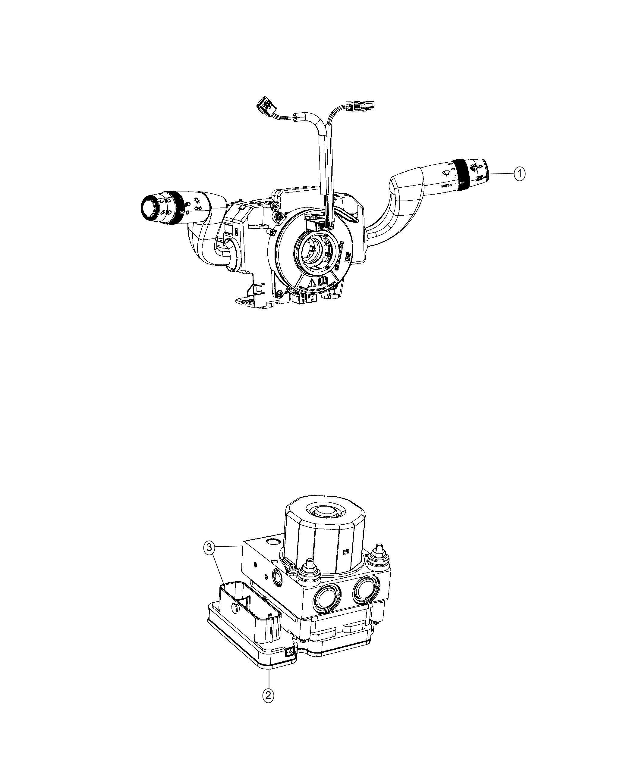 Ram Promaster City Wagon Module Steering Control