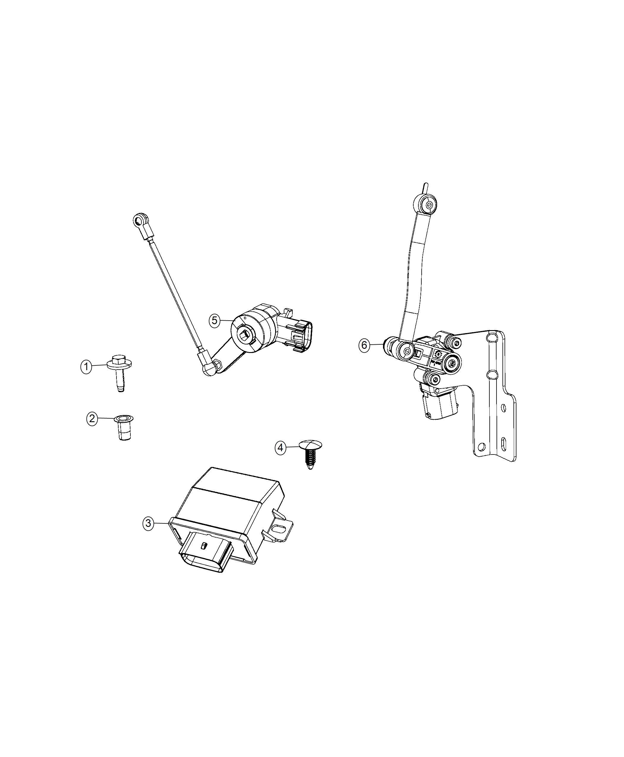 Chrysler Pacifica Sensor Headlamp