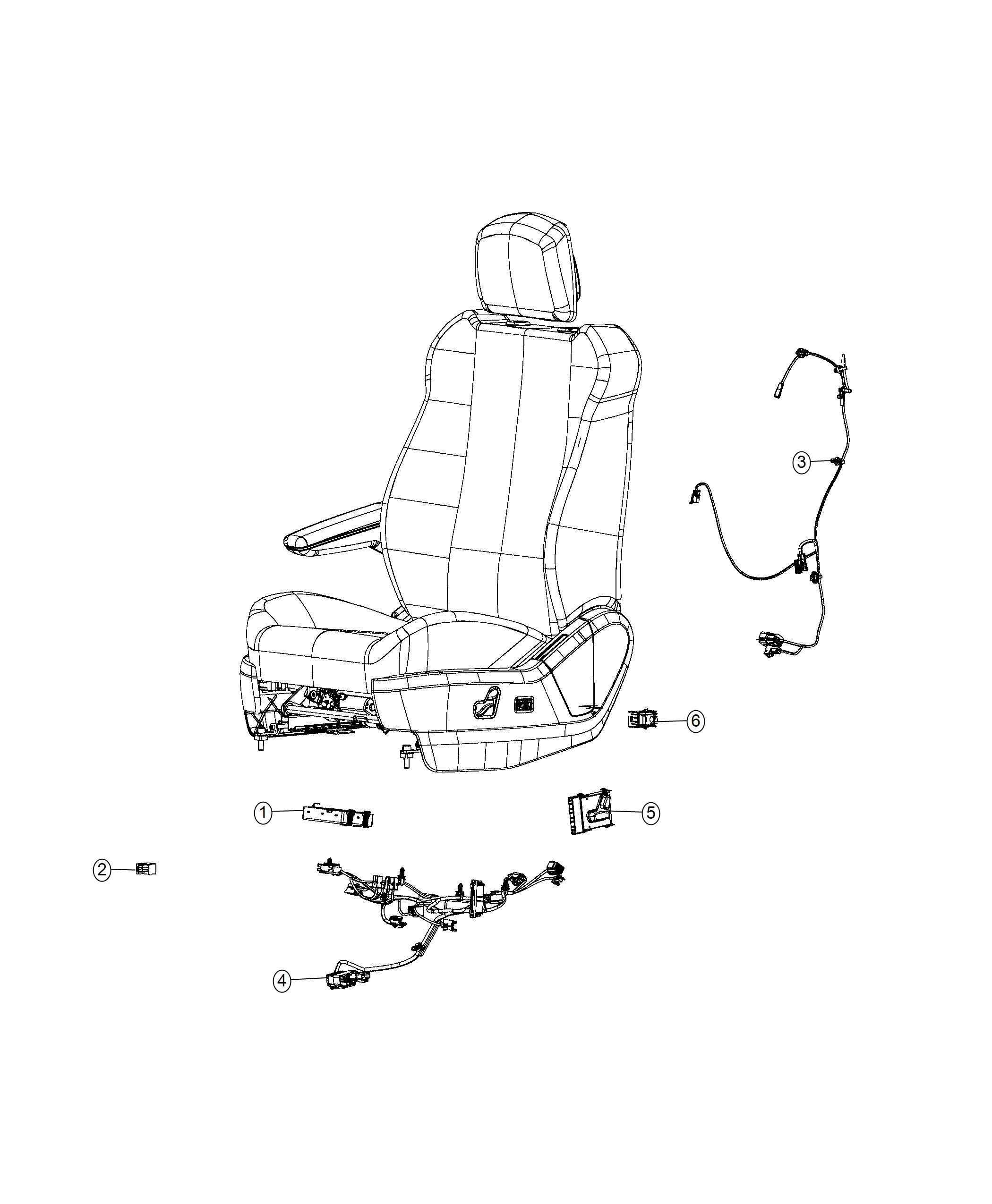 Dodge Grand Caravan Wiring Power Seat Seat Cushion