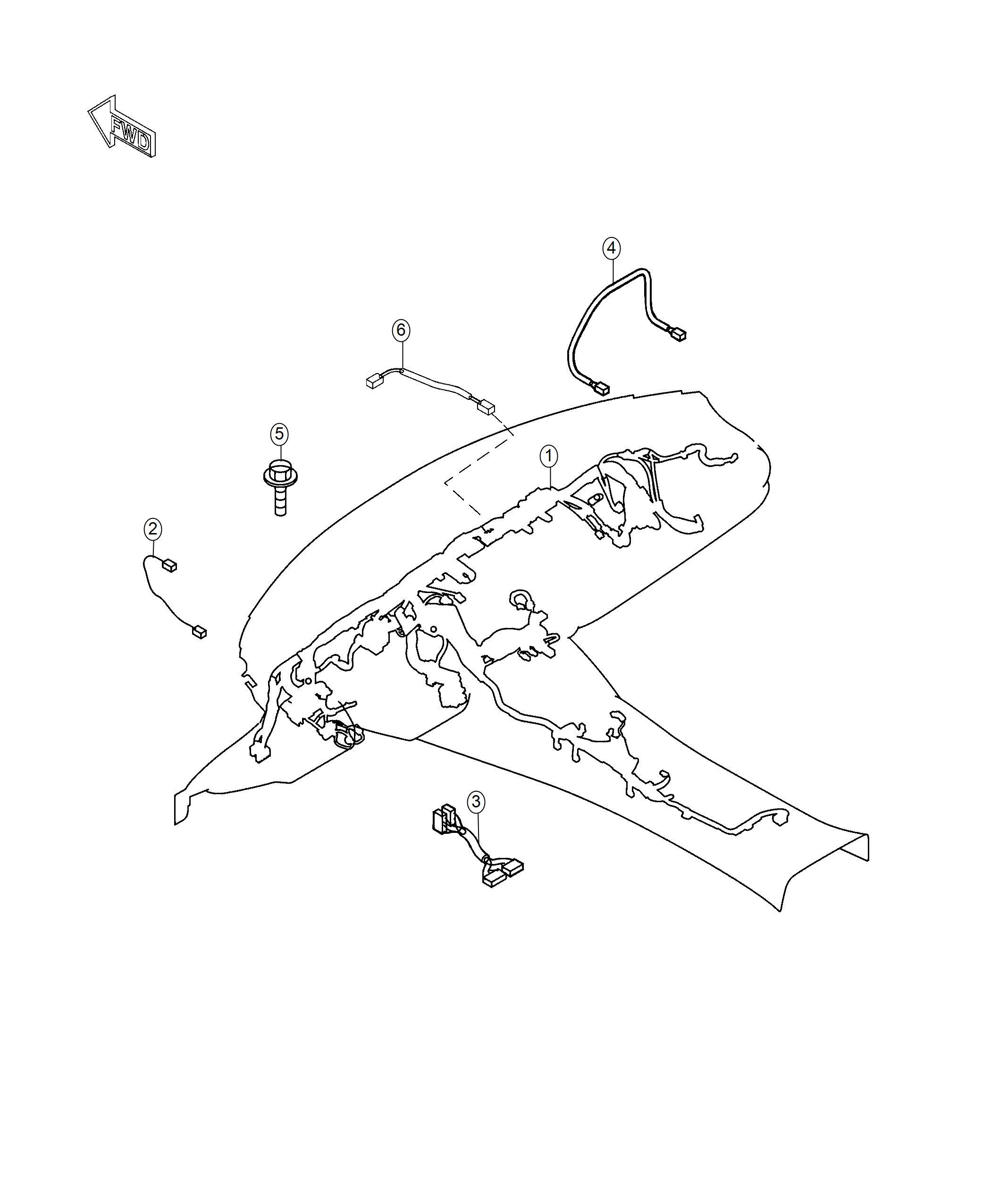 Fiat Spider Wiring Instrument Panel Canada Rear Camera