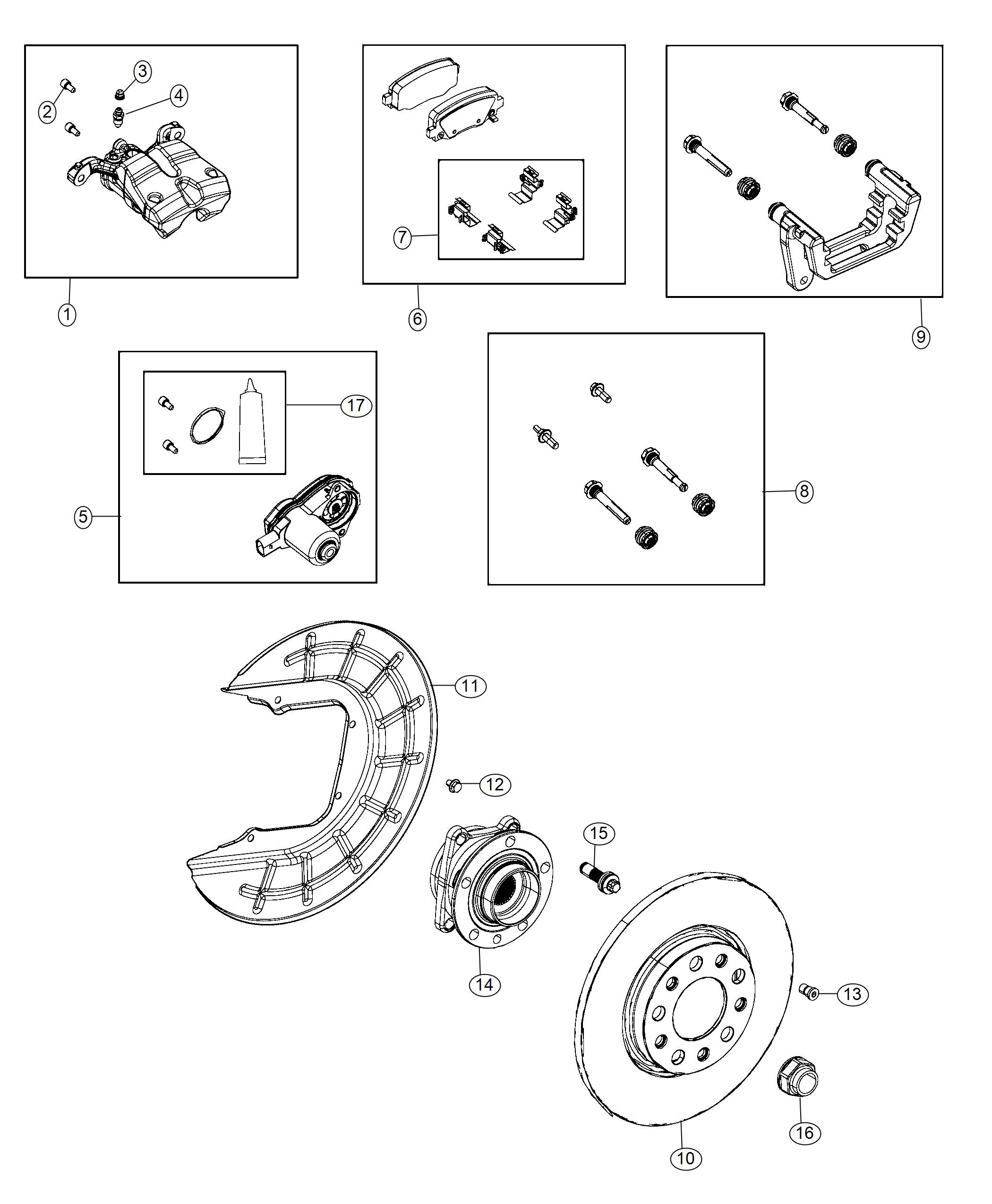 Jeep Cherokee Rotor Brake Rear Right Or Left