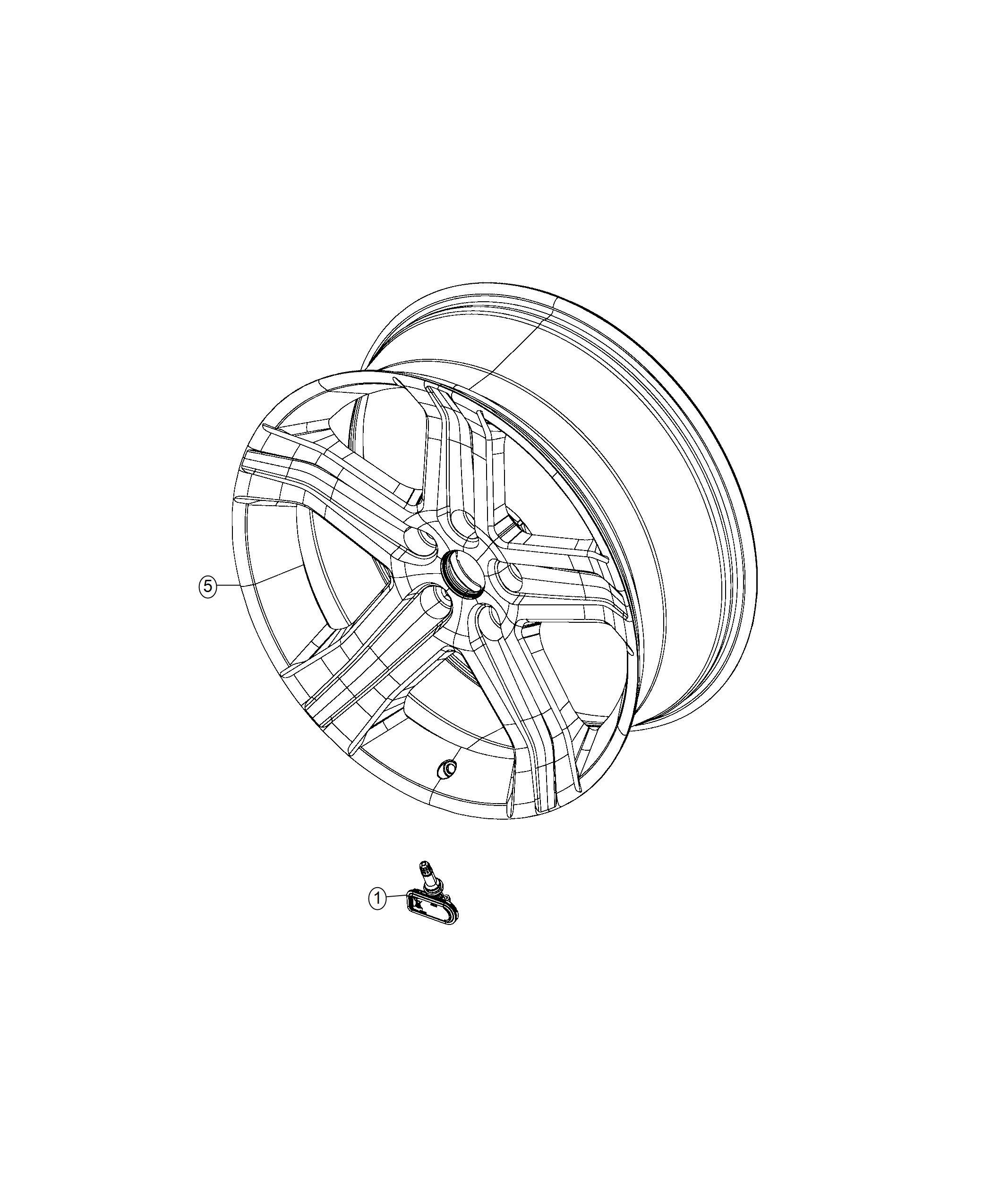 Ram Valve Core Kit Valve Stem Rear Inner Trim No