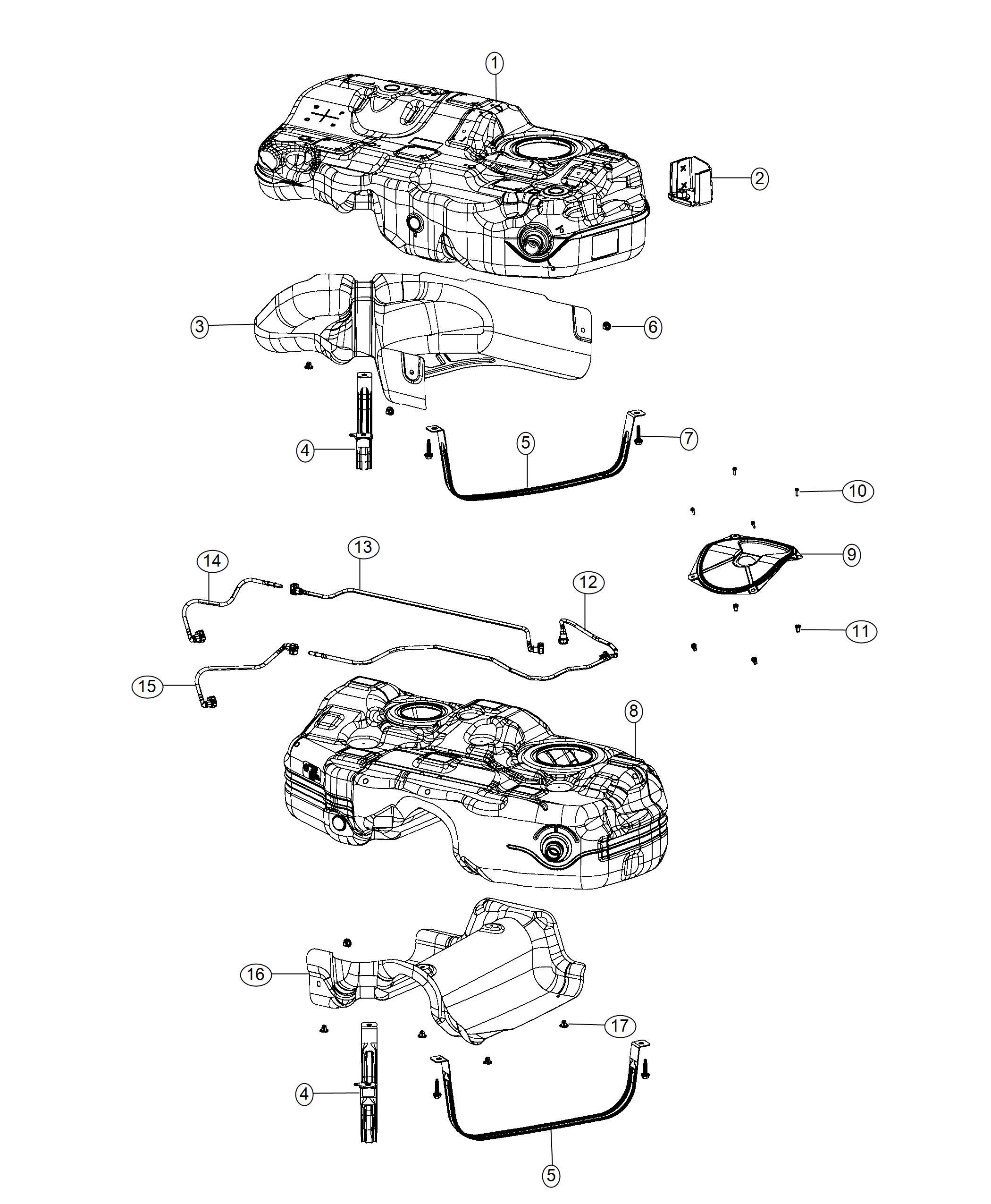 Jeep Cherokee Fuel Tank Diagram