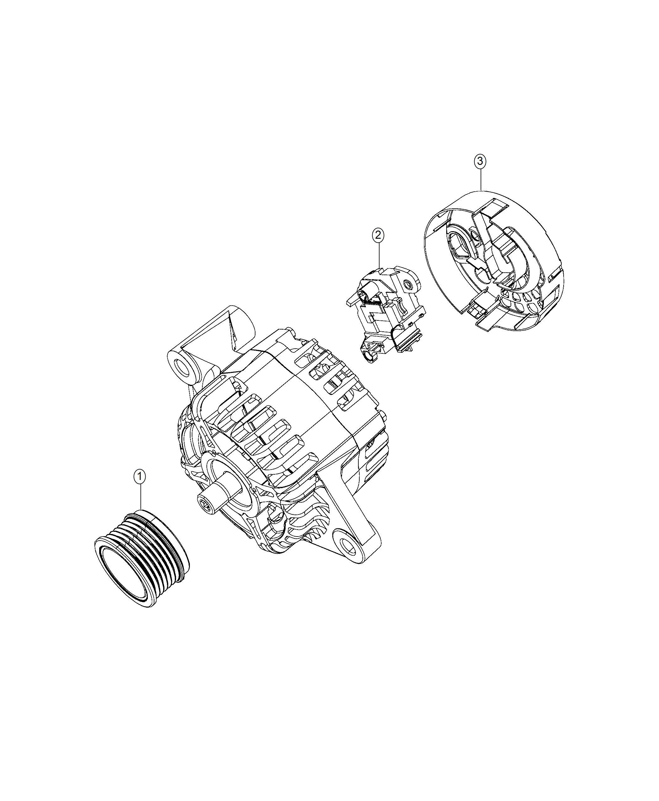 Jeep Renegade Shield Alternator Stop Start Multiple Vsm