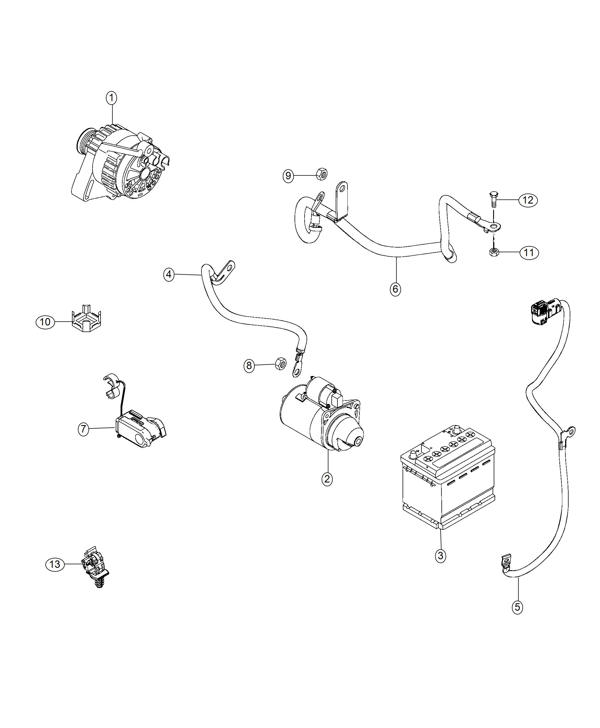 Jeep Renegade Wiring Battery Positive