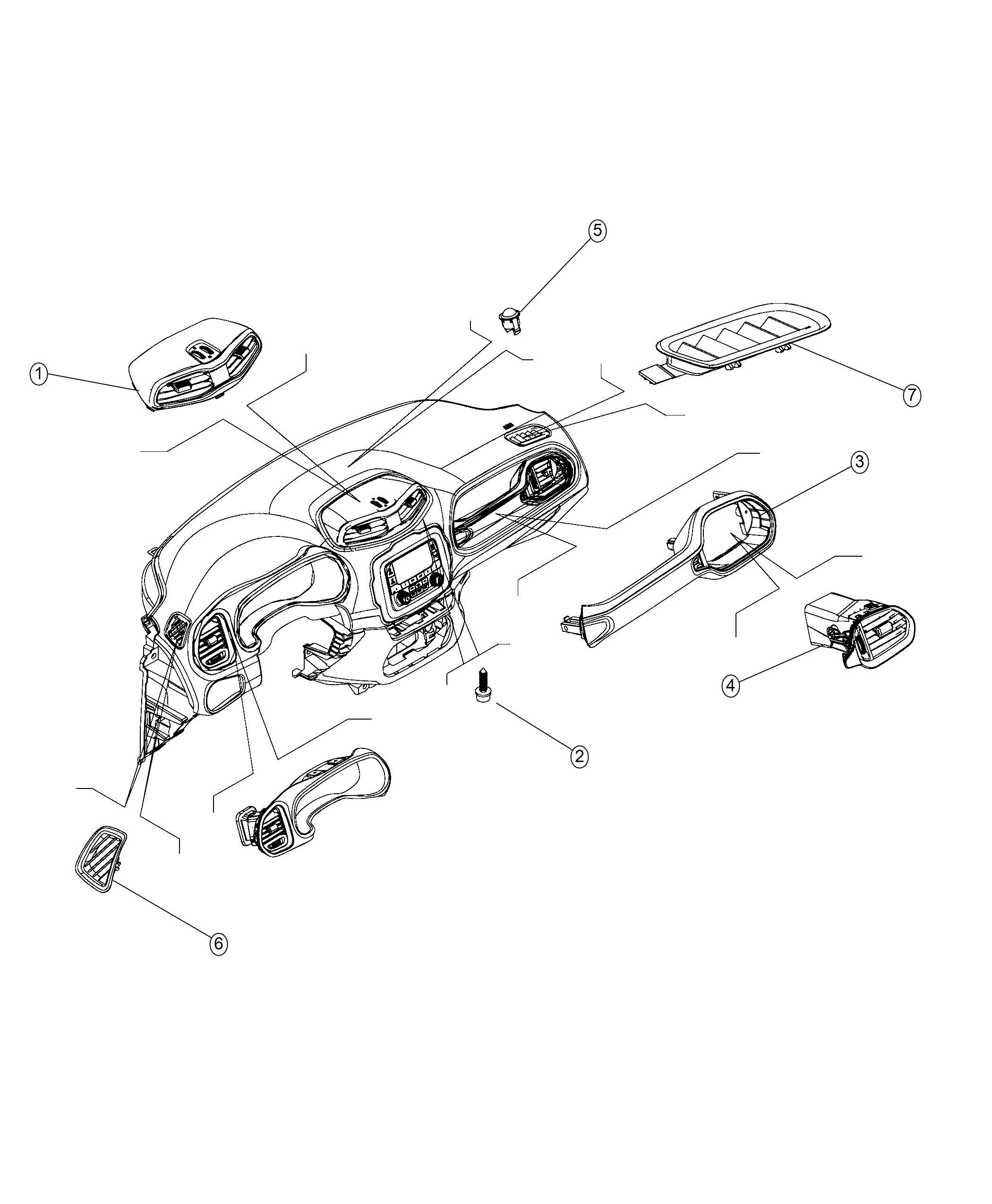 Jeep Renegade Handle Grab Export Bark Brown Ski Grey