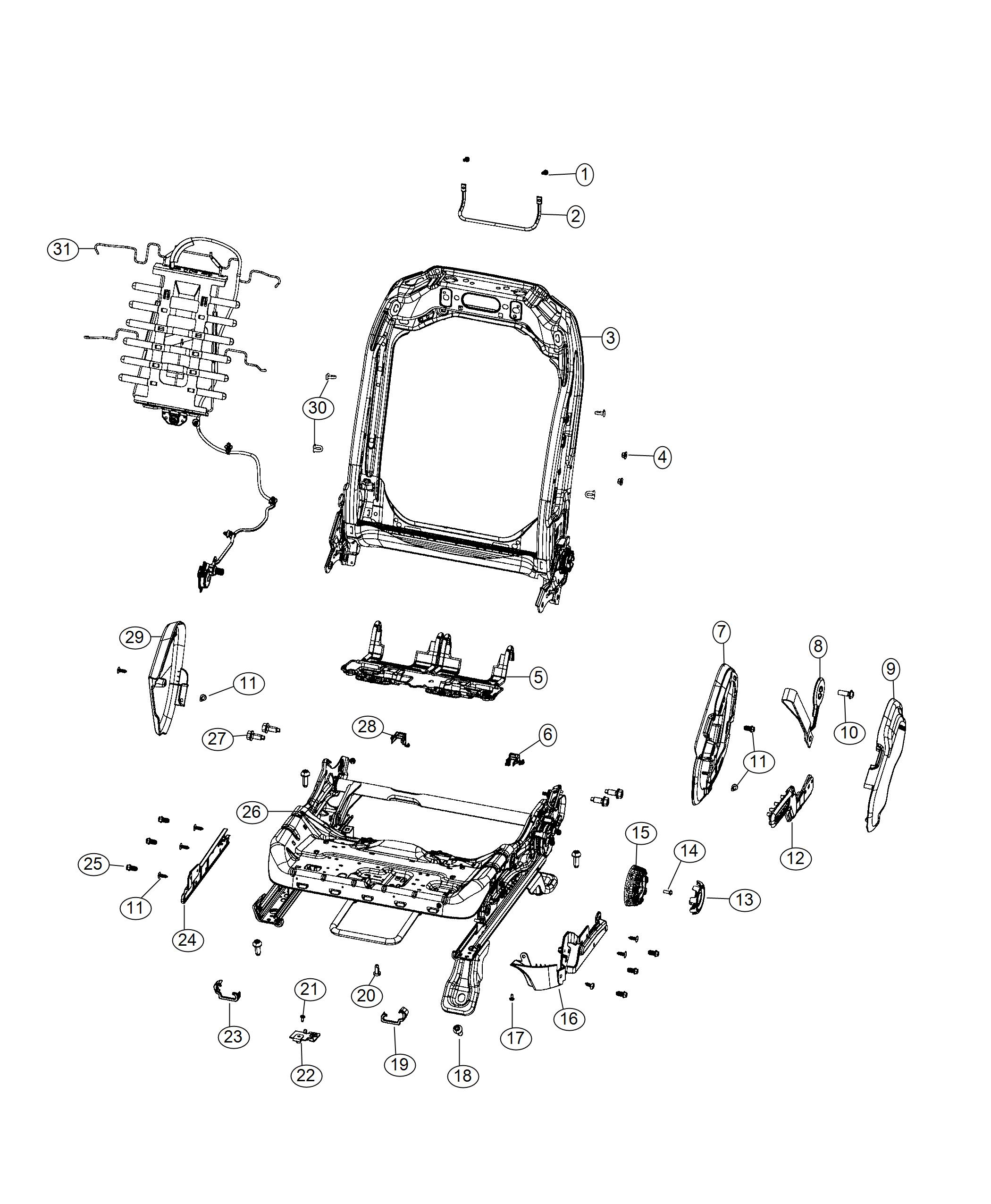 Jeep Wrangler Pull Strap Seat Recliner Export Sandstone Black Trim Mckinley