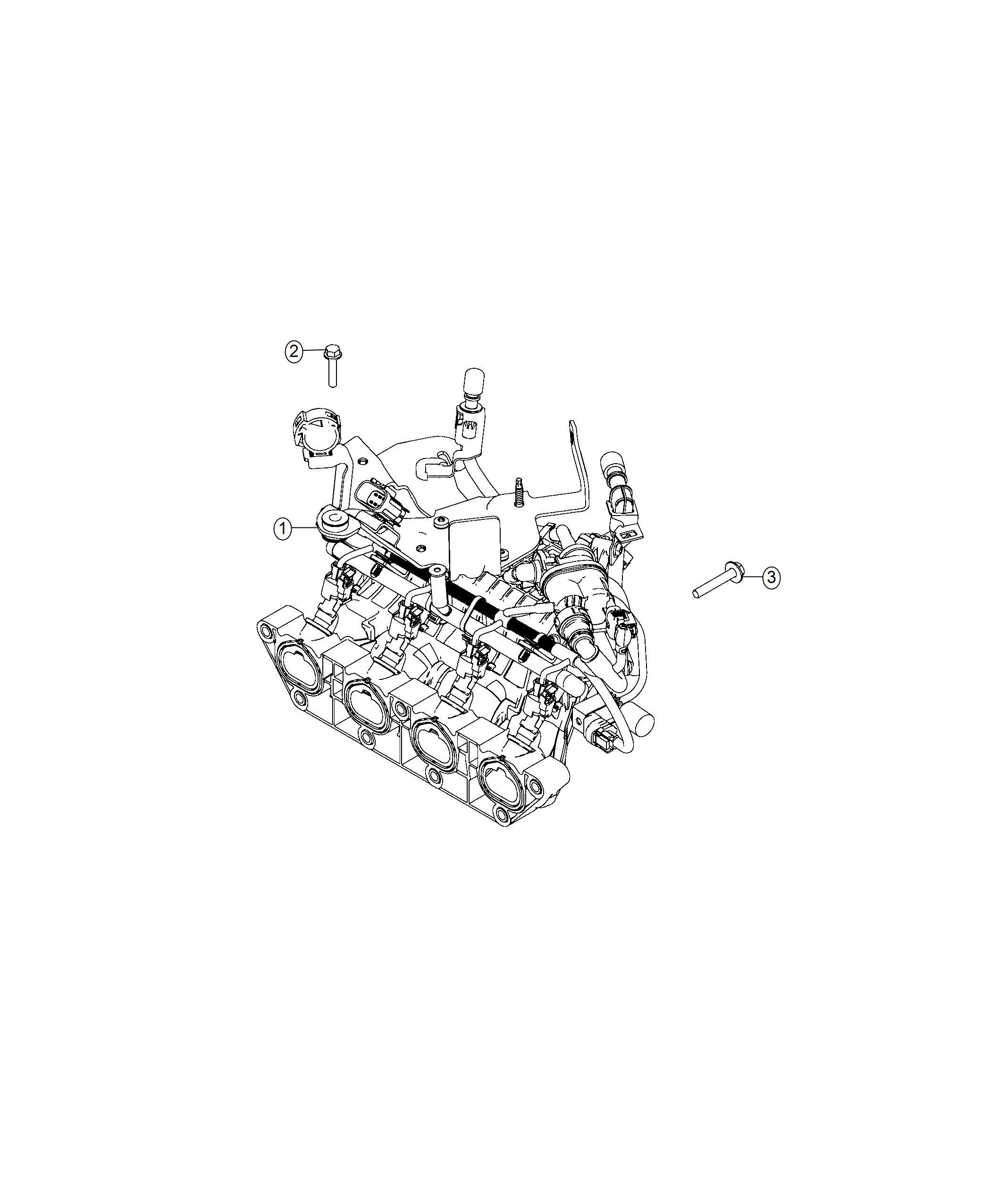 Fiat 124 Spider Manifold Engine Intake Intake