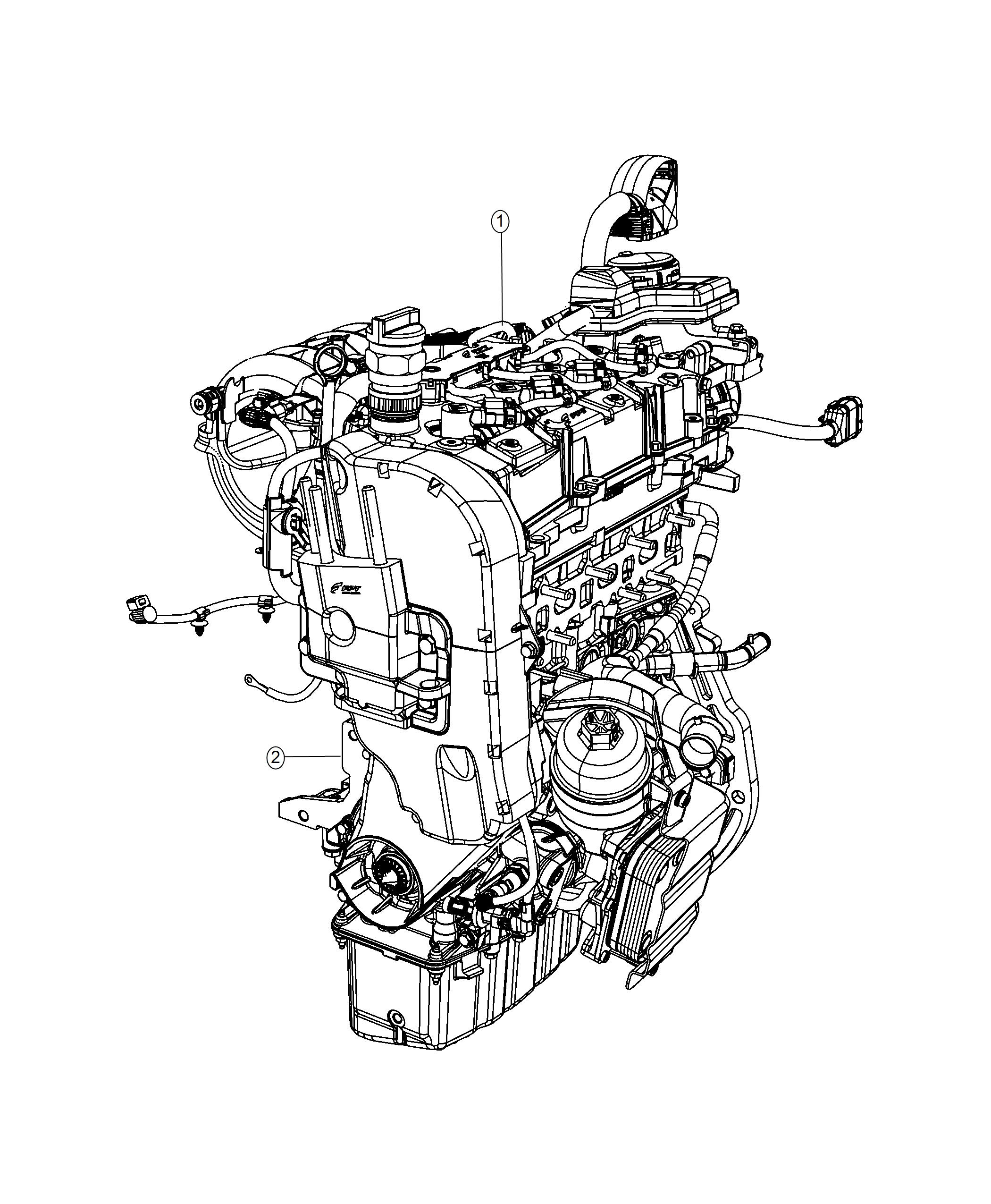 Fiat 124 Spider Engine Long Block Turbocharged Service