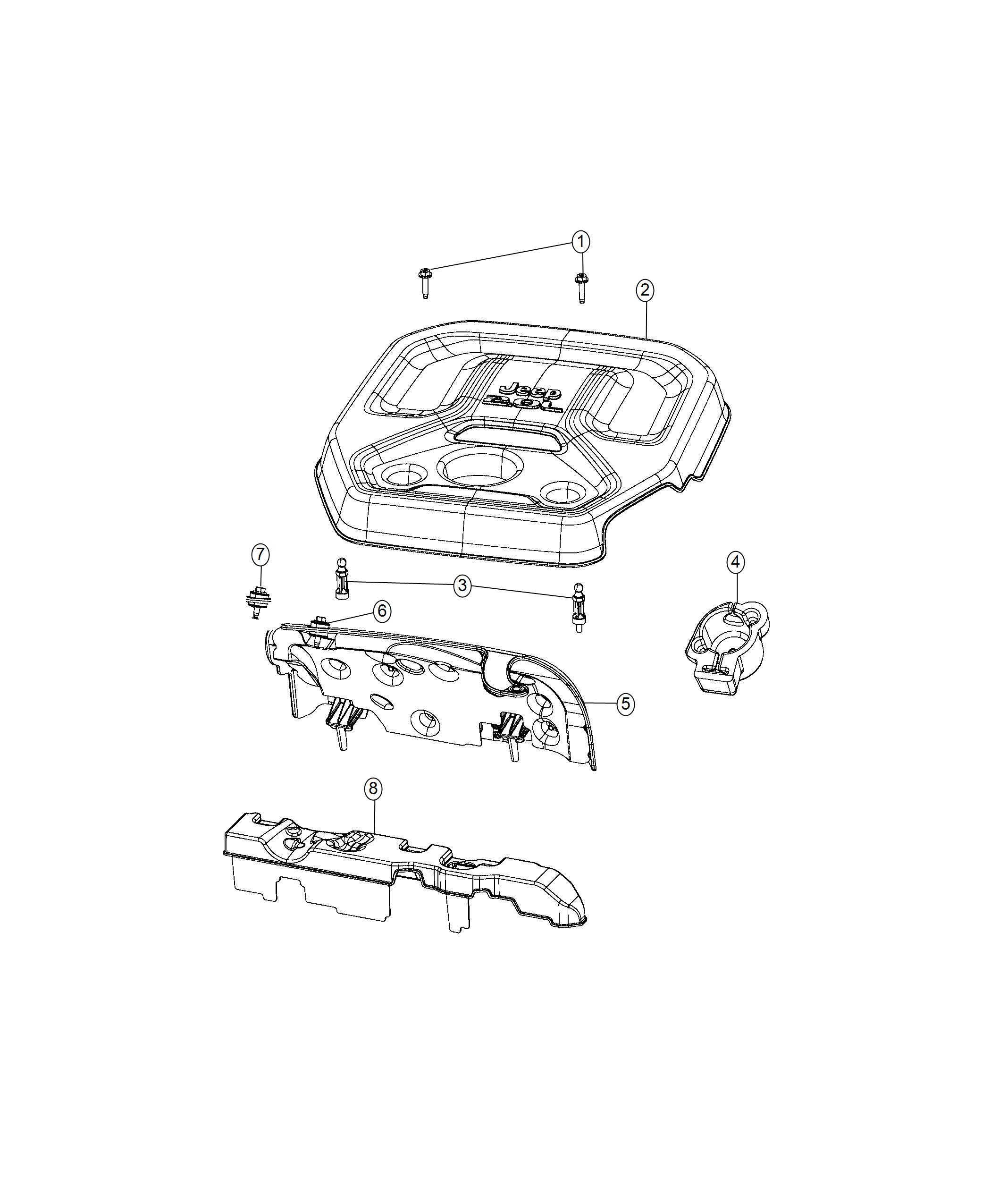 Jeep Wrangler Grommet Insulator