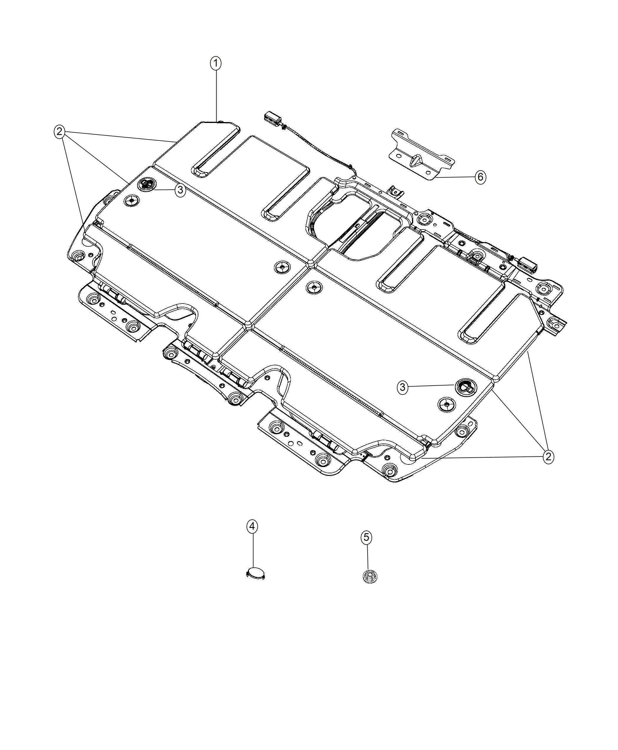 Chrysler Pacifica Bracket Close Out Easy Entry Slide 2nd Row Seating 2nd Row Buckets