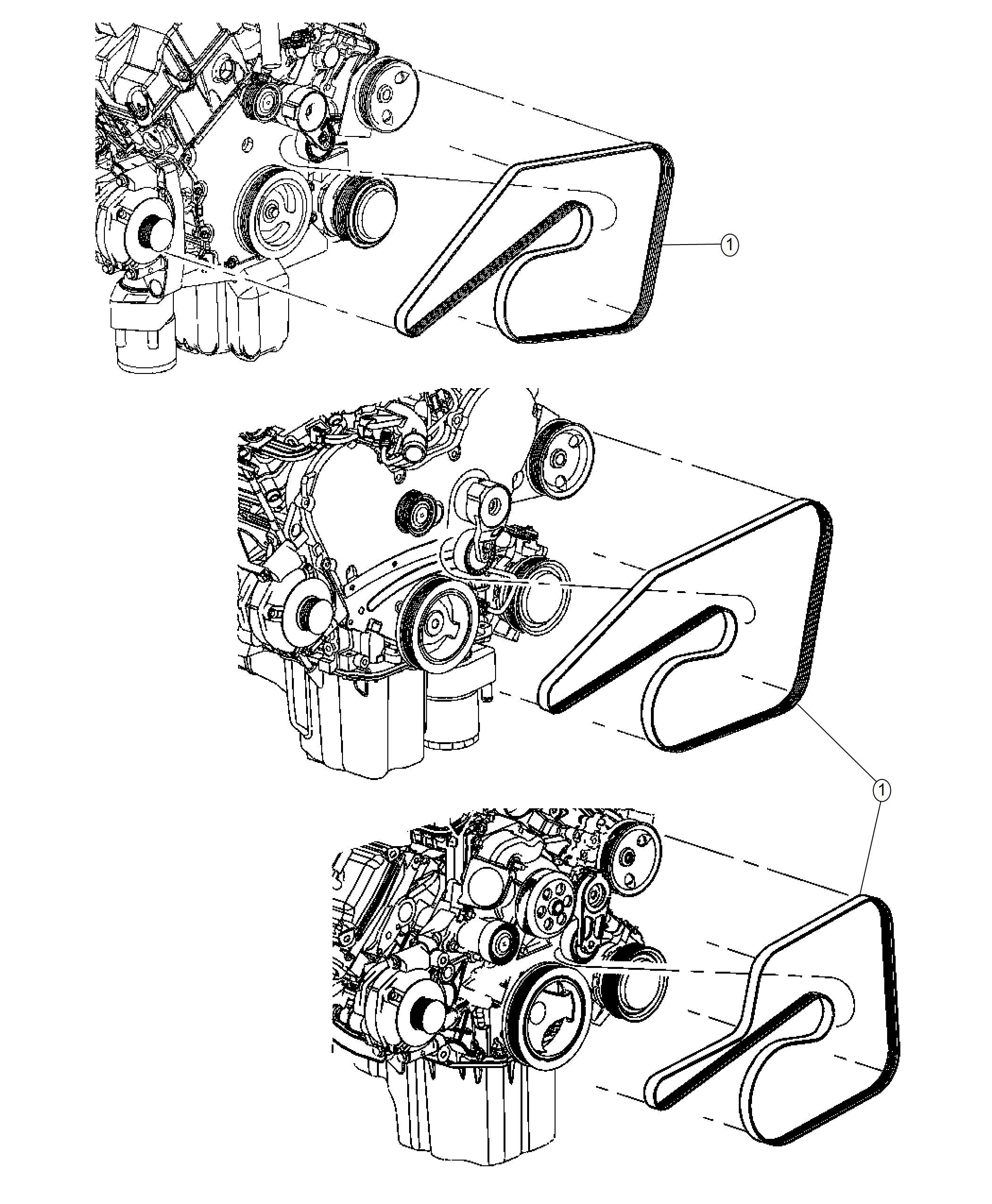 Chrysler 300 Belt Serpentine Belts Maintenance
