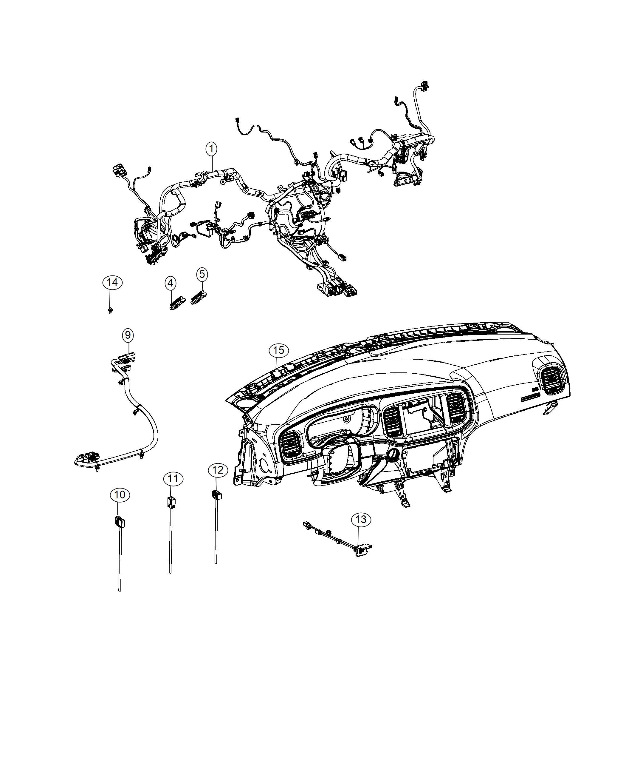 Dodge Charger Wiring Jumper Eps Harness Eps Jumper