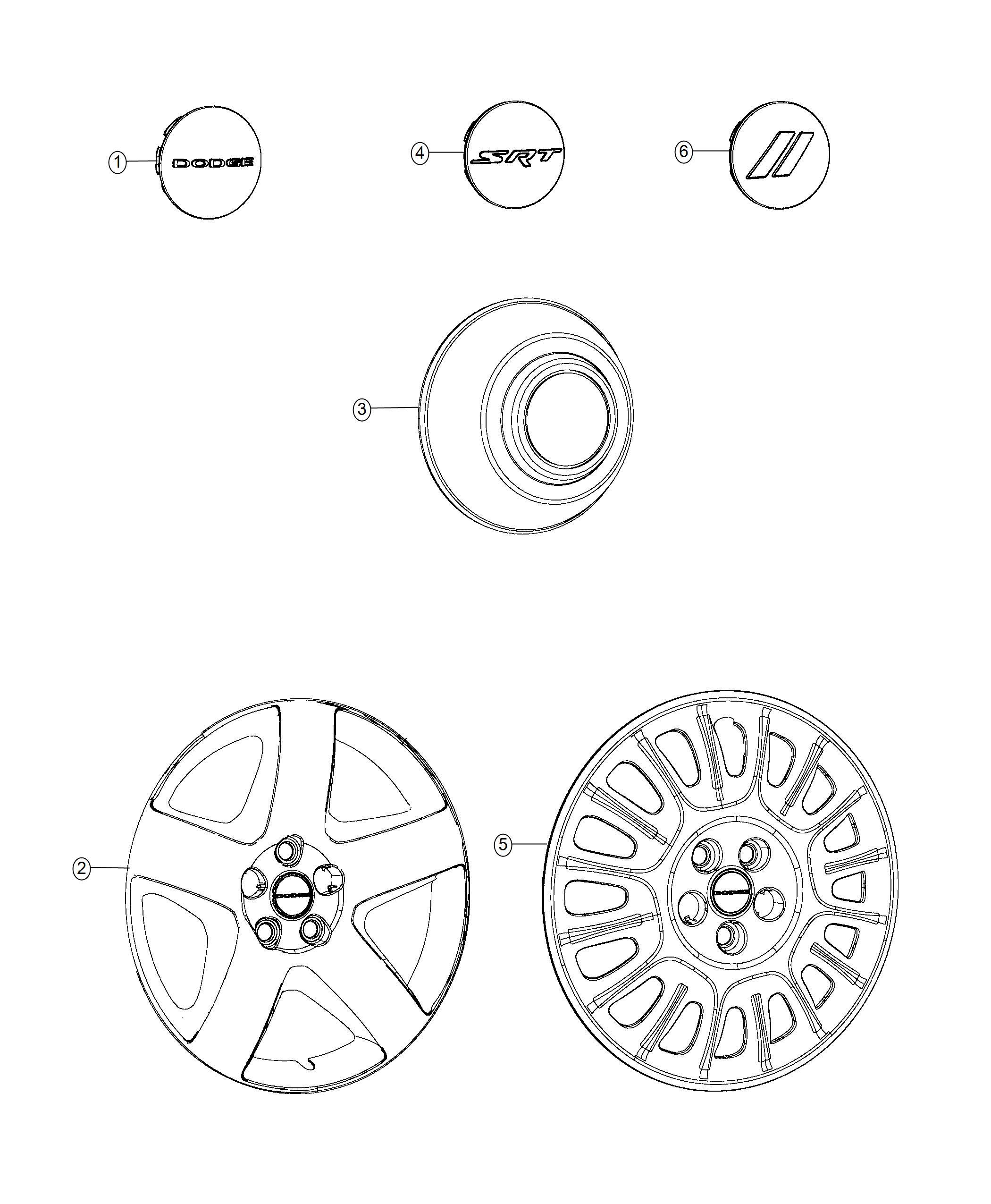 Dodge Charger Cover Wheel No Description Available