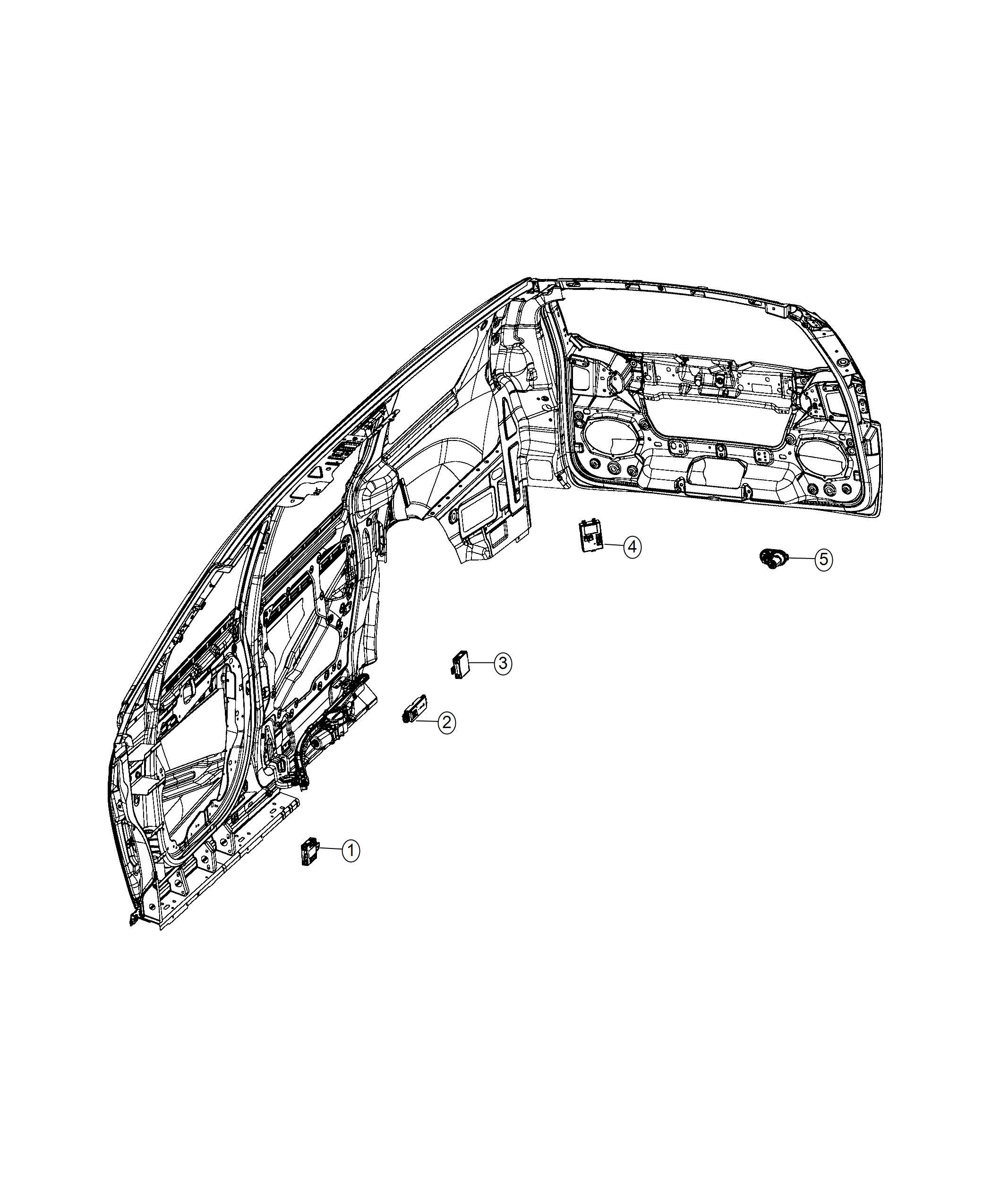 Chrysler Pacifica Module Liftgate Power Liftgate