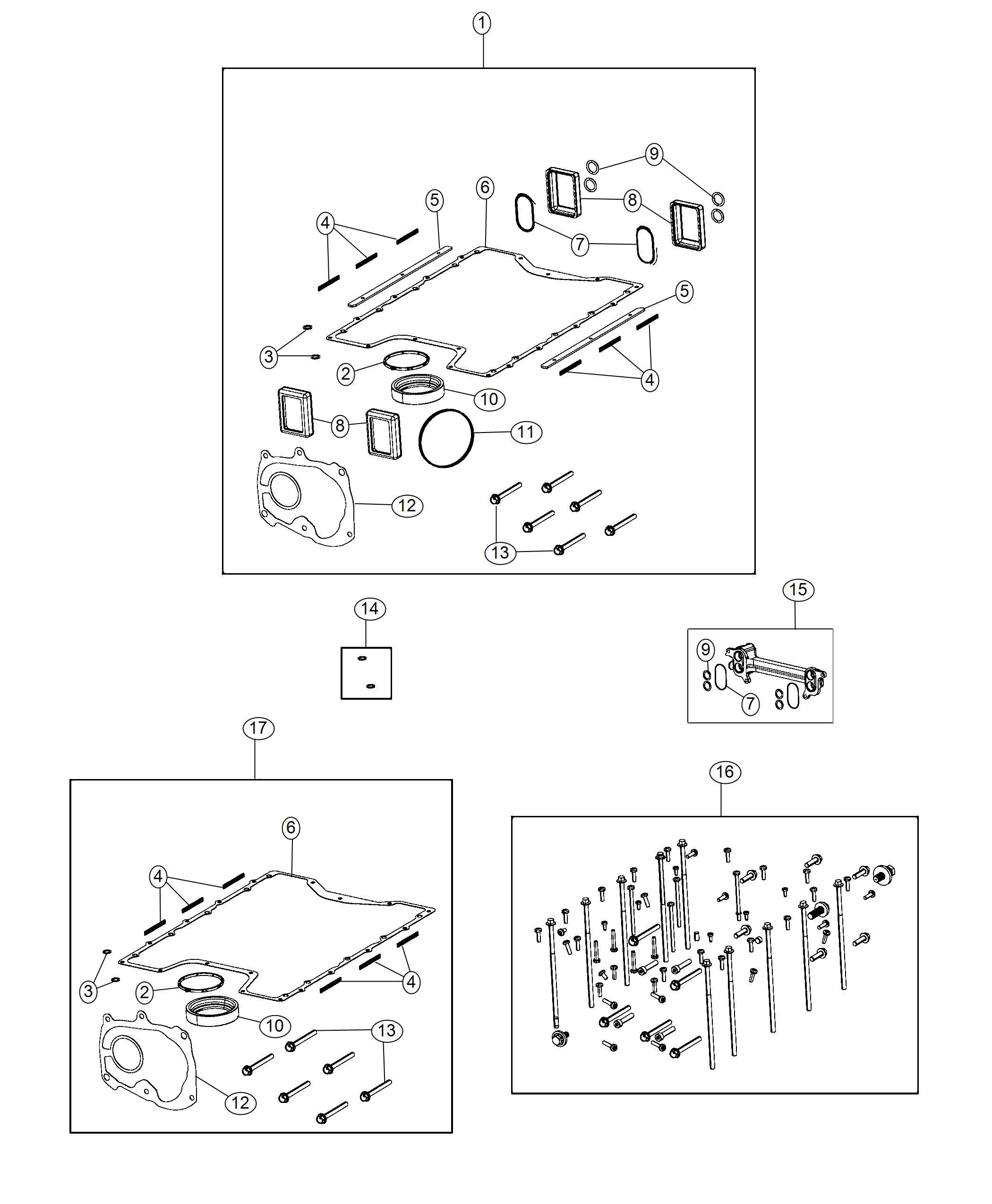 Dodge Challenger Gasket Kit Supercharger Lid Kits