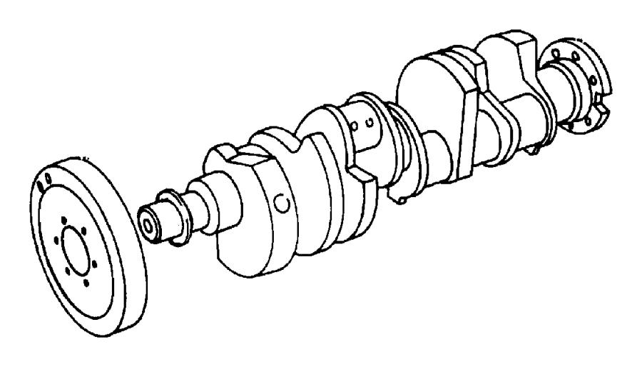 Dodge Ram Damper Crankshaft